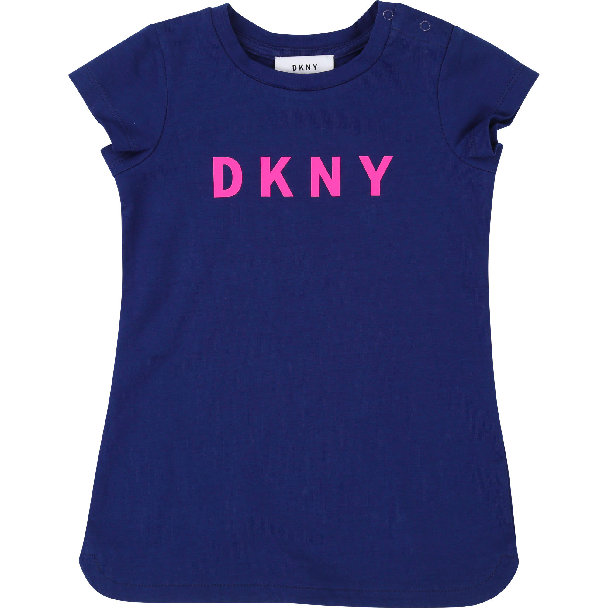 Short-sleeved round-neck dress DKNY for GIRL