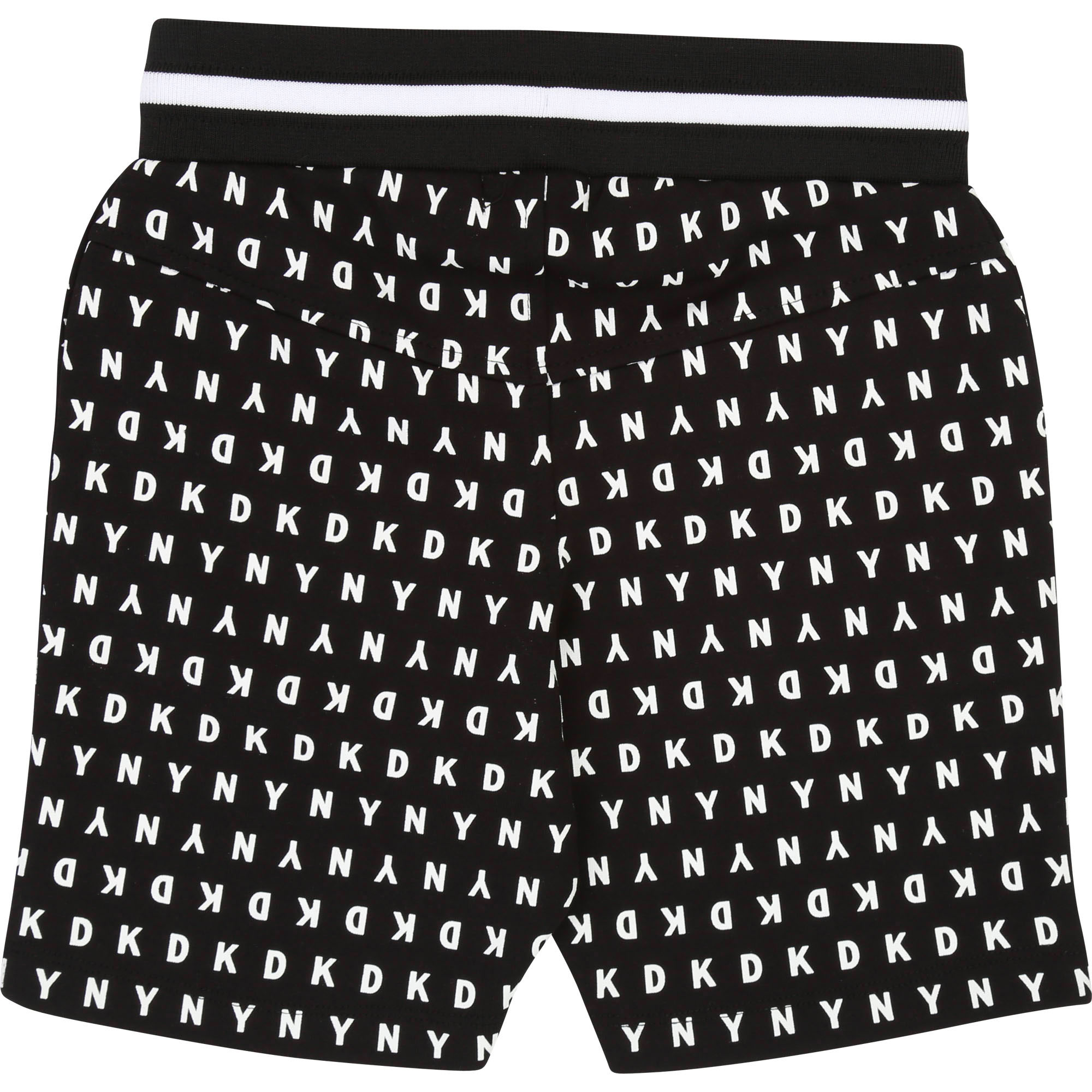 All-over patterned Bermudas DKNY for BOY