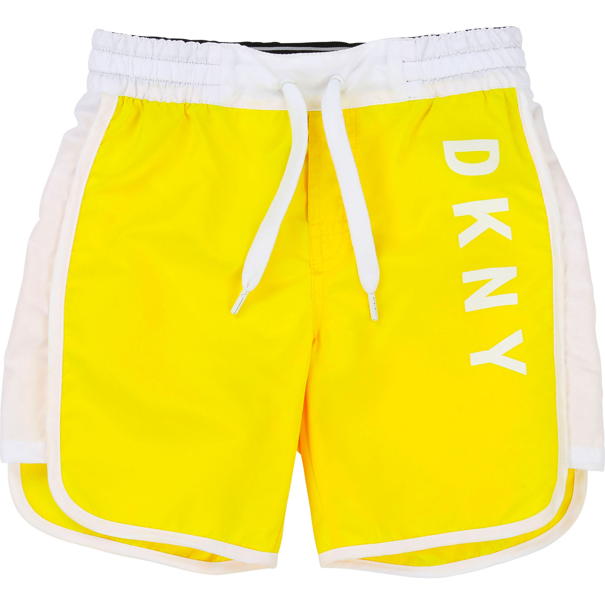 Logo-printed surf shorts DKNY for BOY