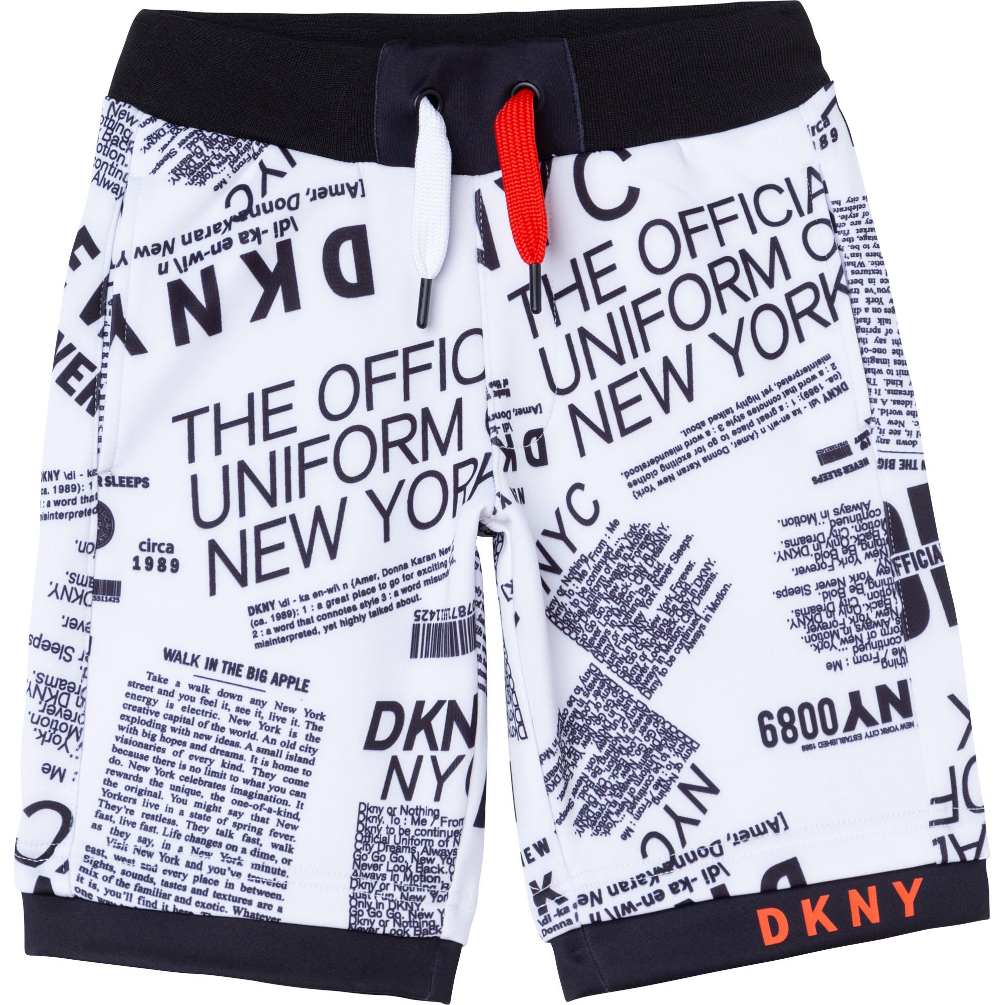 Short en molleton technique DKNY pour GARCON