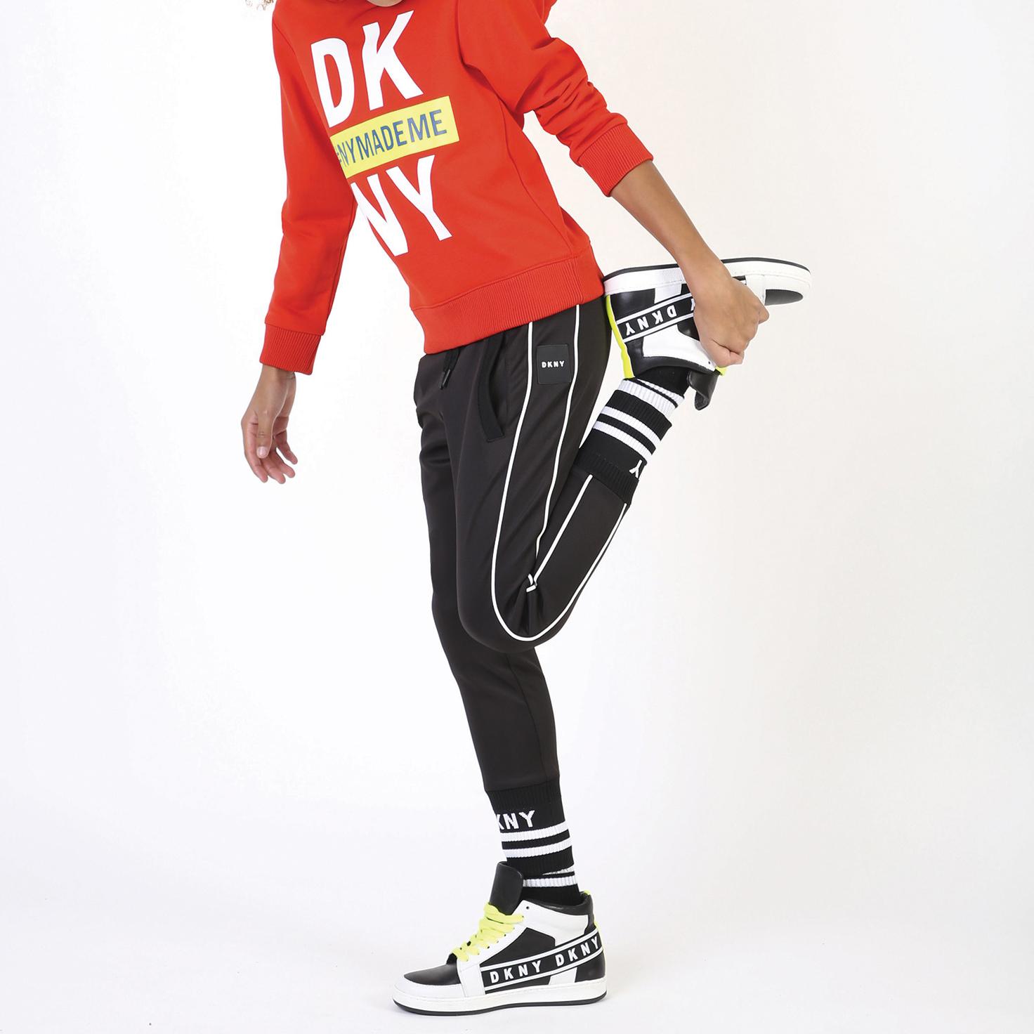 Sweat à capuche en molleton DKNY pour GARCON