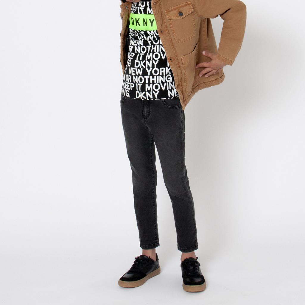 T-shirt in jersey di cotone DKNY Per RAGAZZO