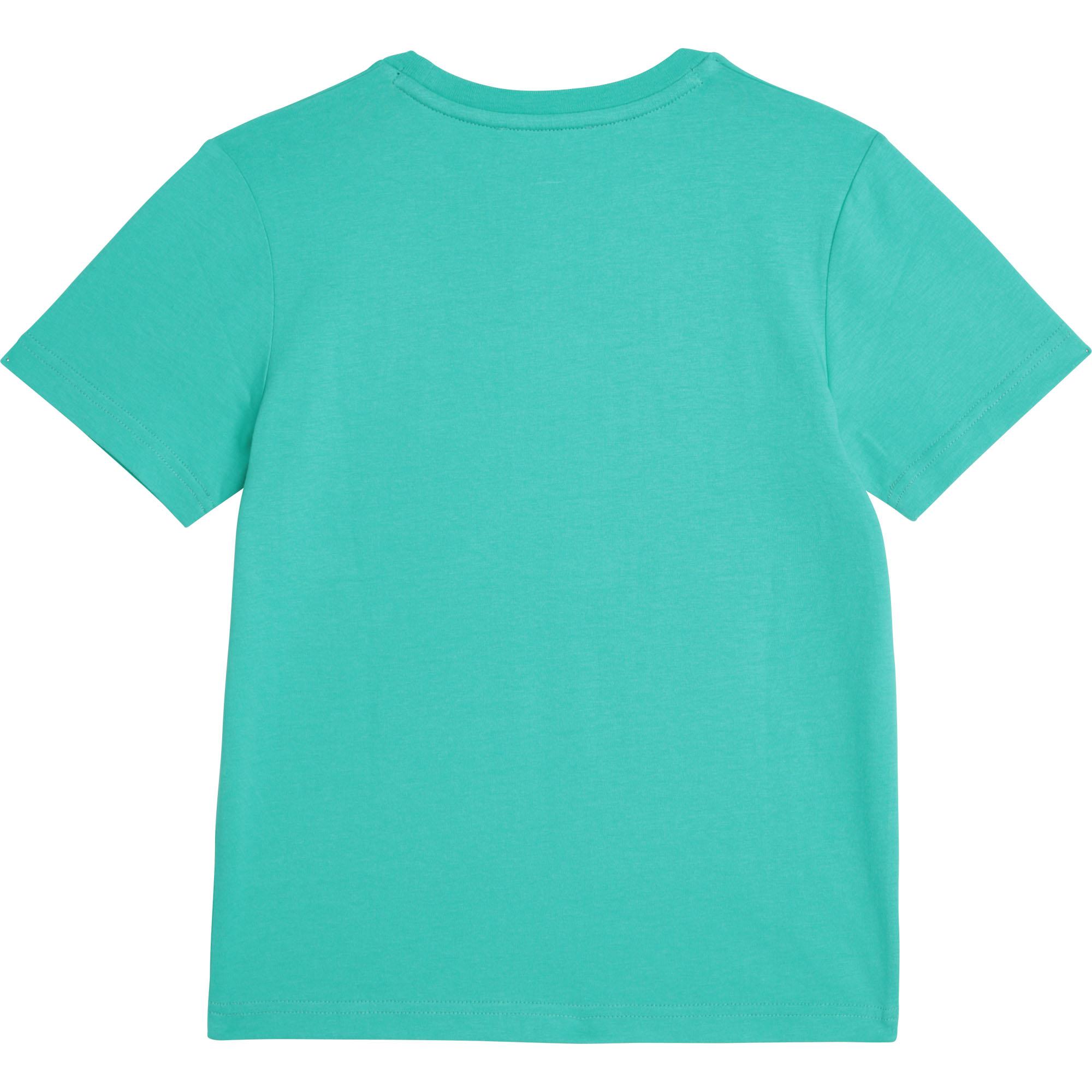 T-shirt en coton biologique DKNY pour GARCON