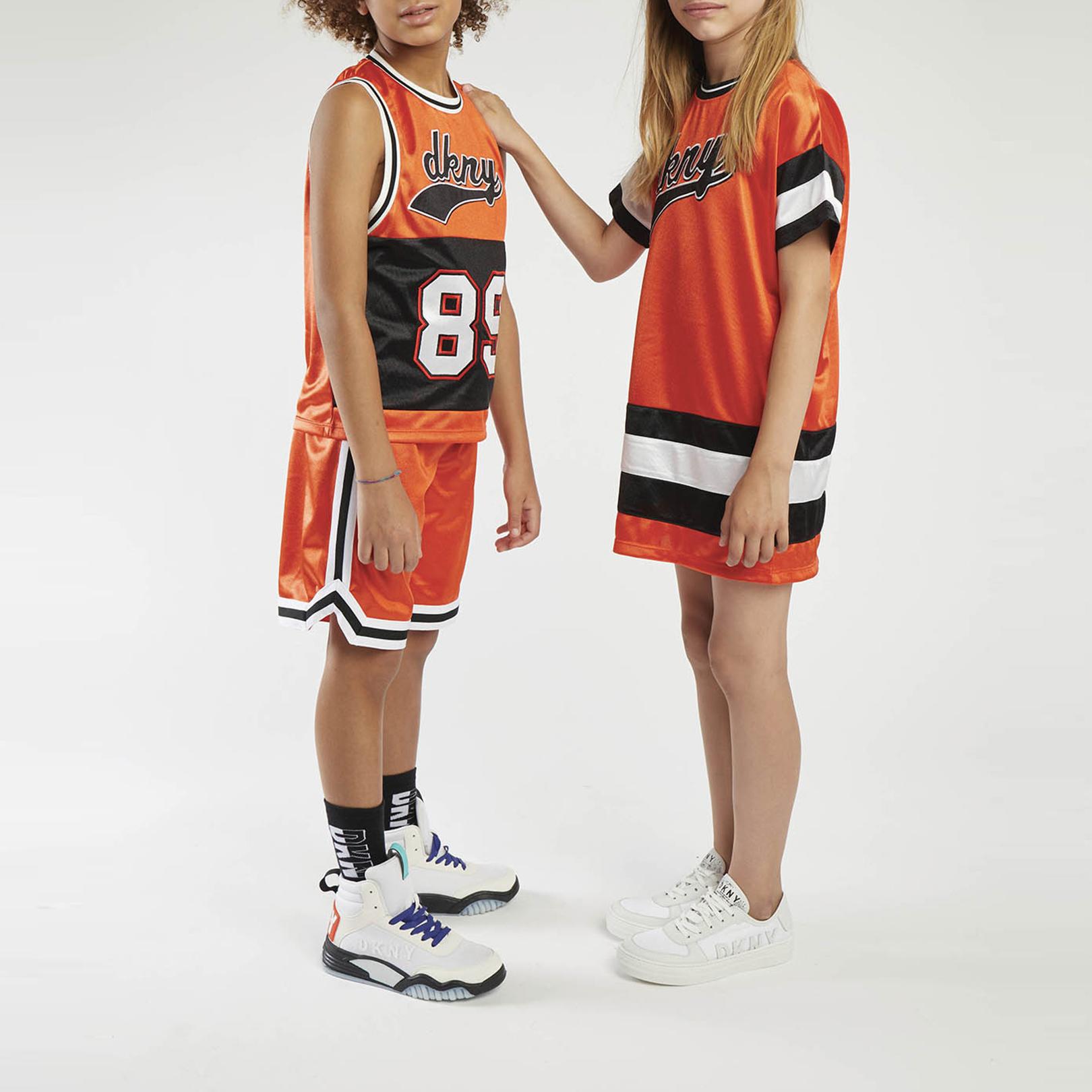 Maillot de basket en jersey DKNY pour GARCON