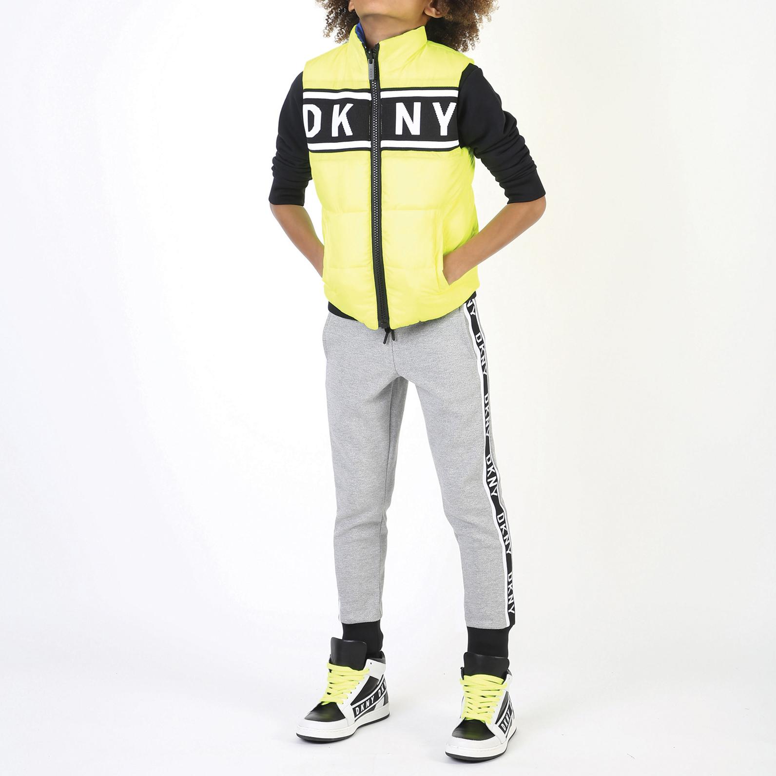 Doudoune réversible en nylon DKNY pour GARCON