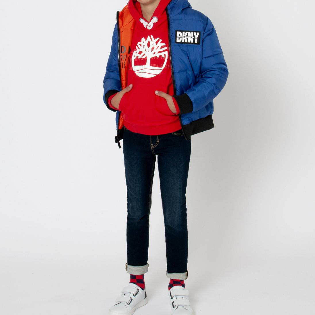 Doudoune réversible déperlante DKNY pour GARCON