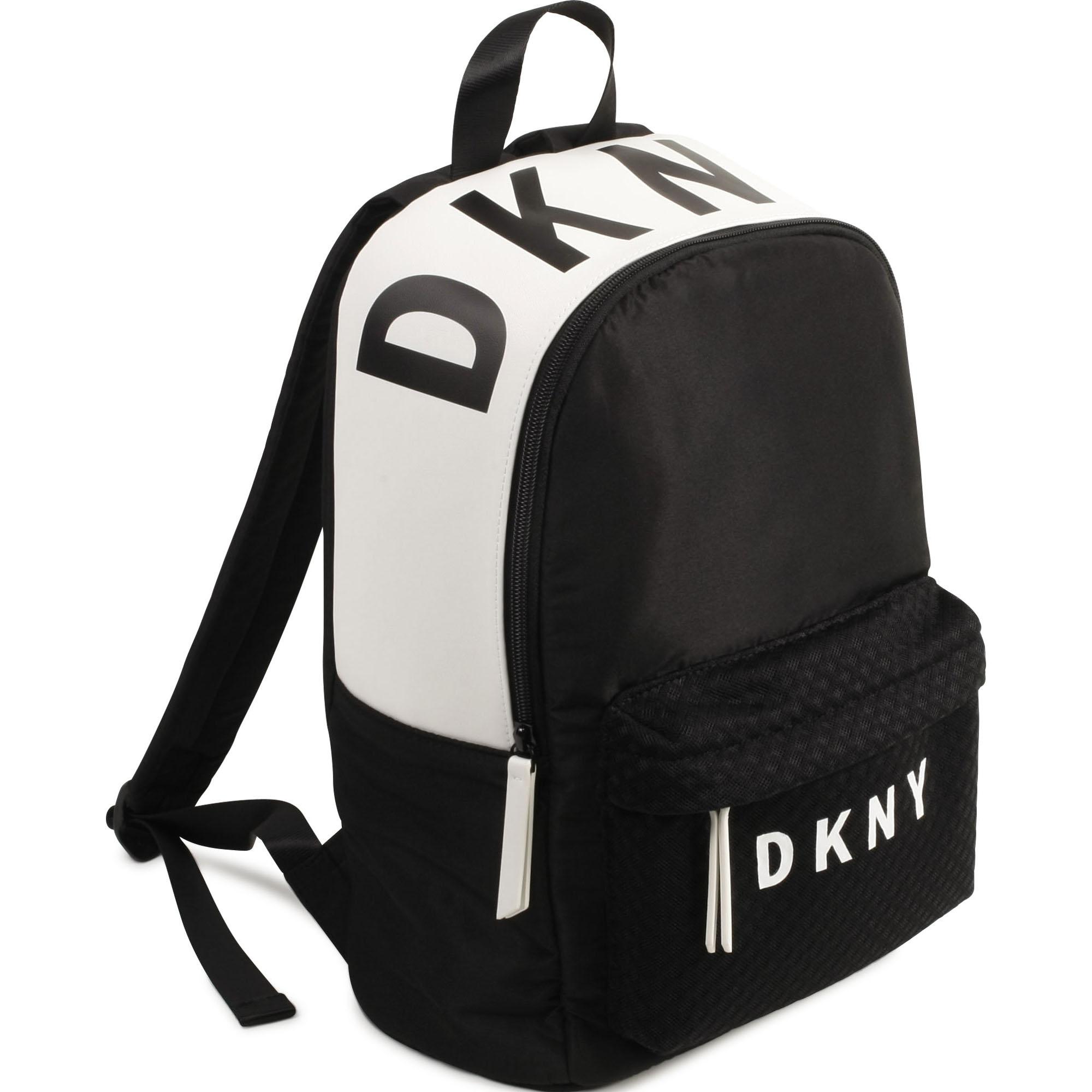 Sac à dos bicolore DKNY pour FILLE