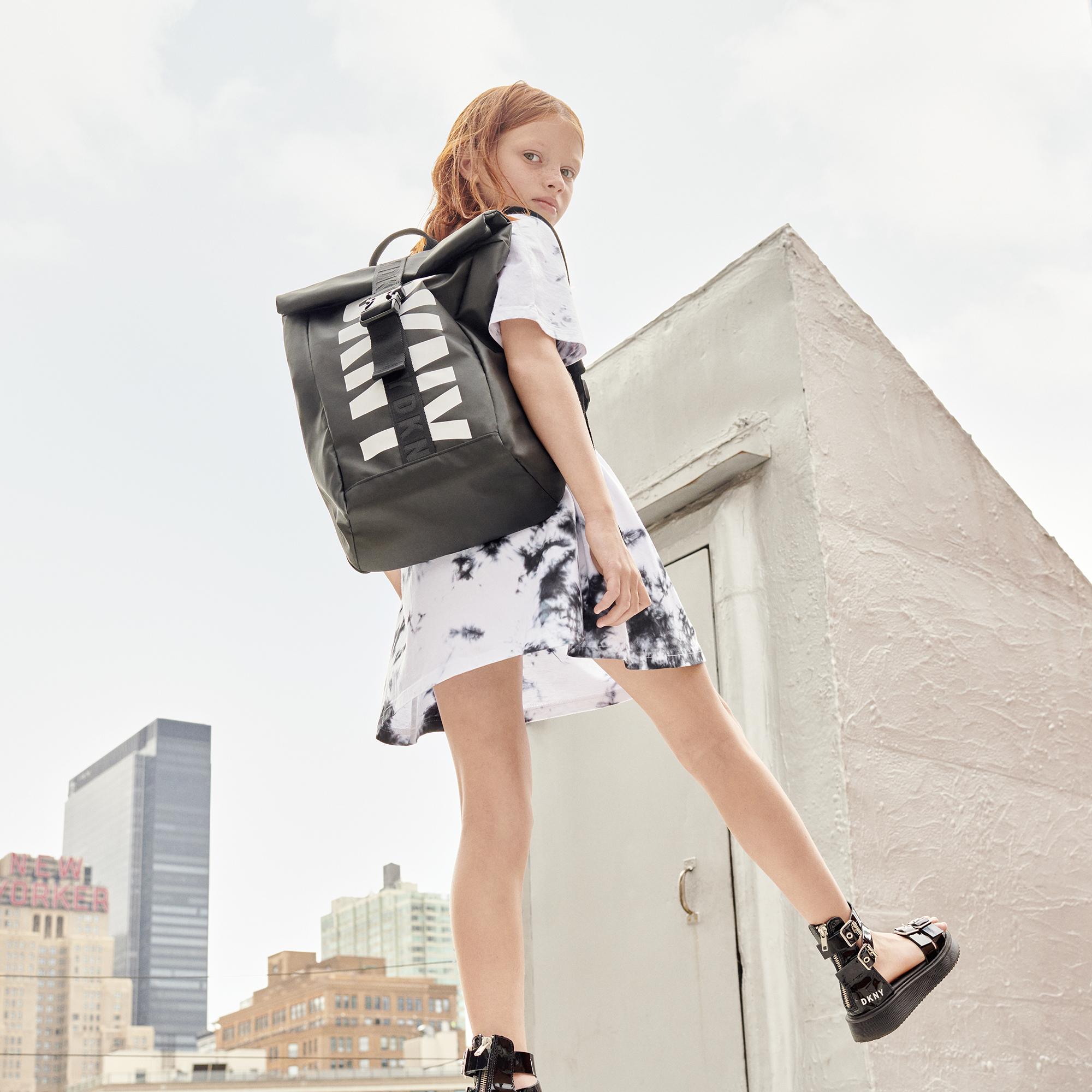 Sac à dos en toile enduite DKNY pour FILLE