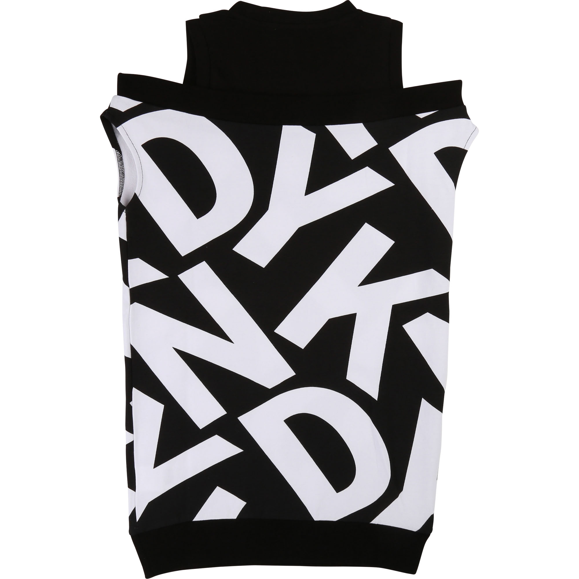 Printed 2-in-1-effect dress DKNY for GIRL
