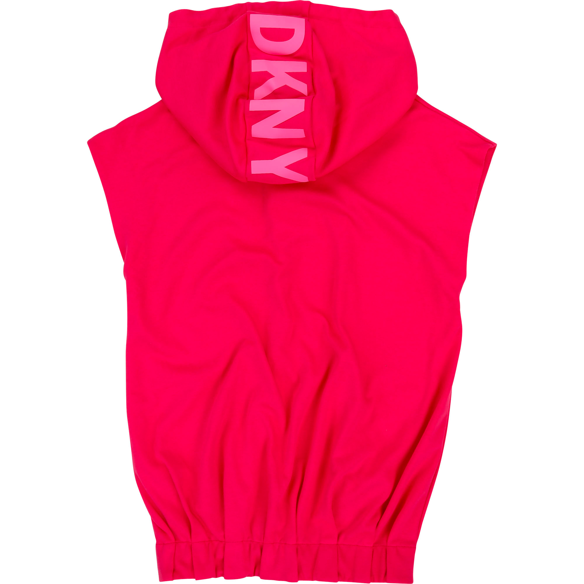 Elastic bottom dress with hood DKNY for GIRL