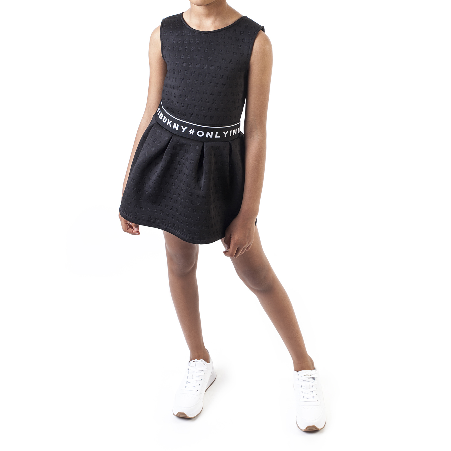 Sleeveless fitted dress DKNY for GIRL