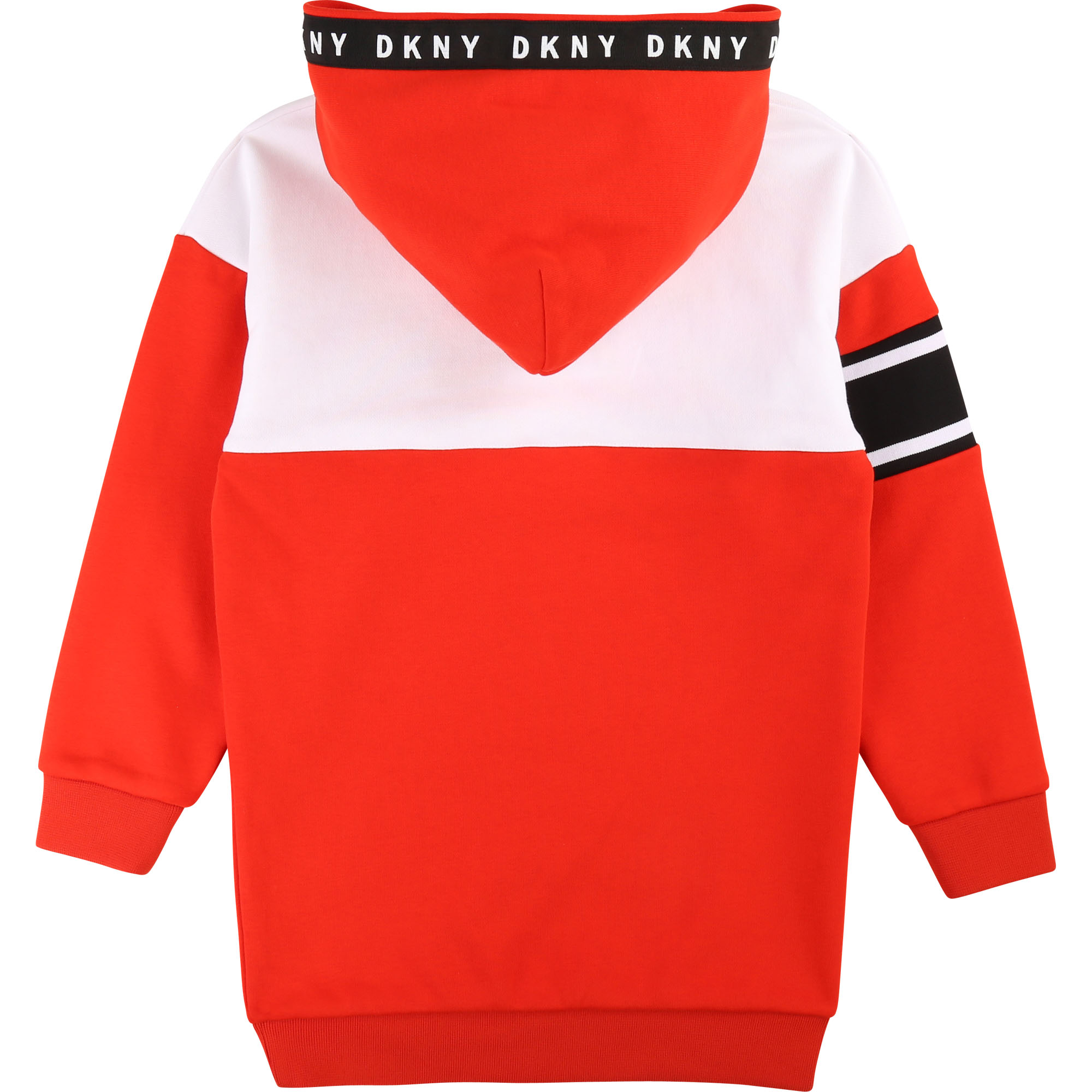 Robe sweat en molleton DKNY pour FILLE