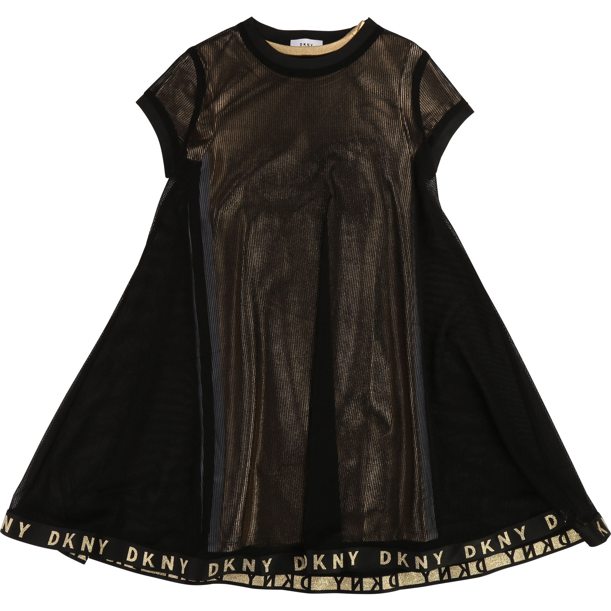 2-in-1 mesh dress DKNY for GIRL