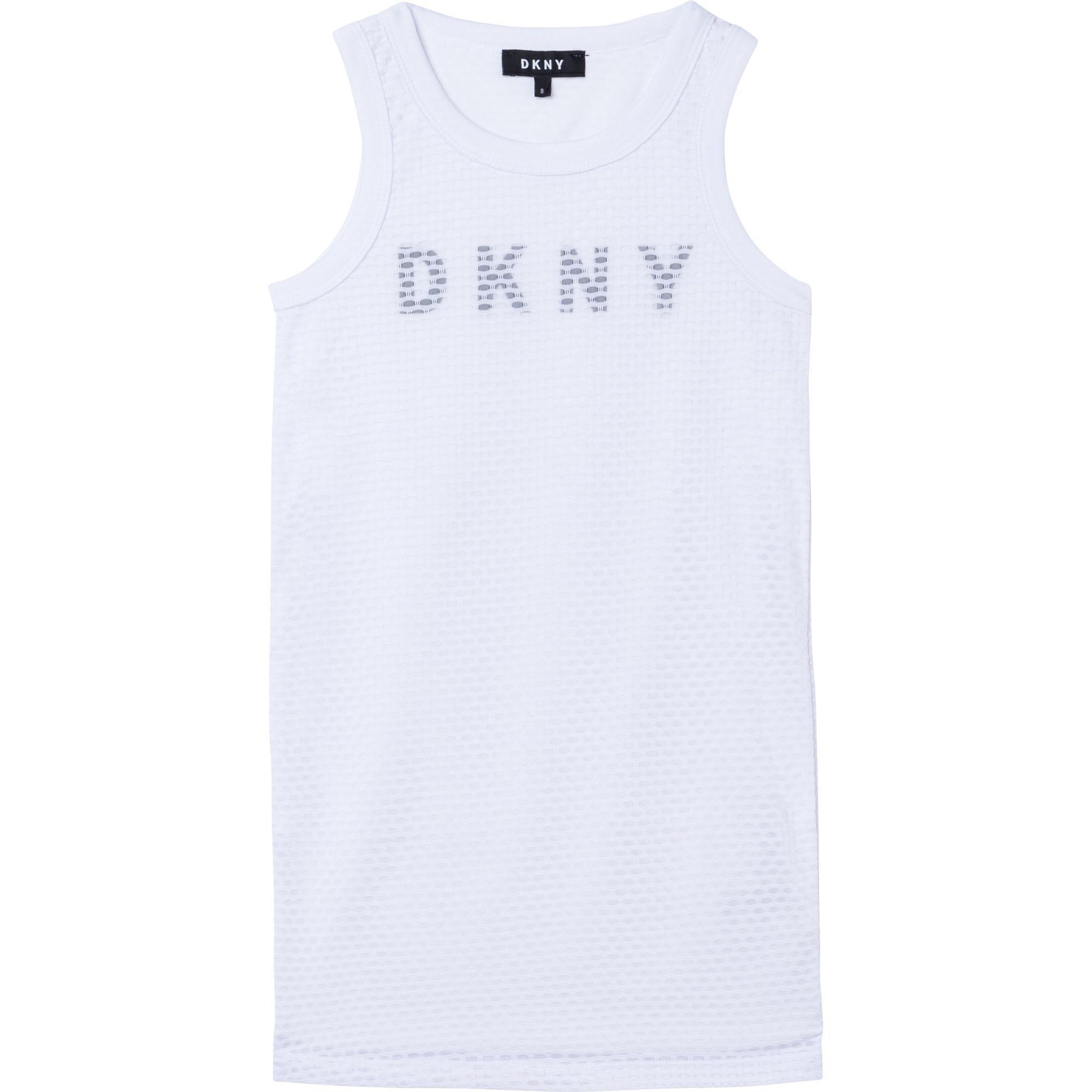 Robe sans manche mesh DKNY pour FILLE