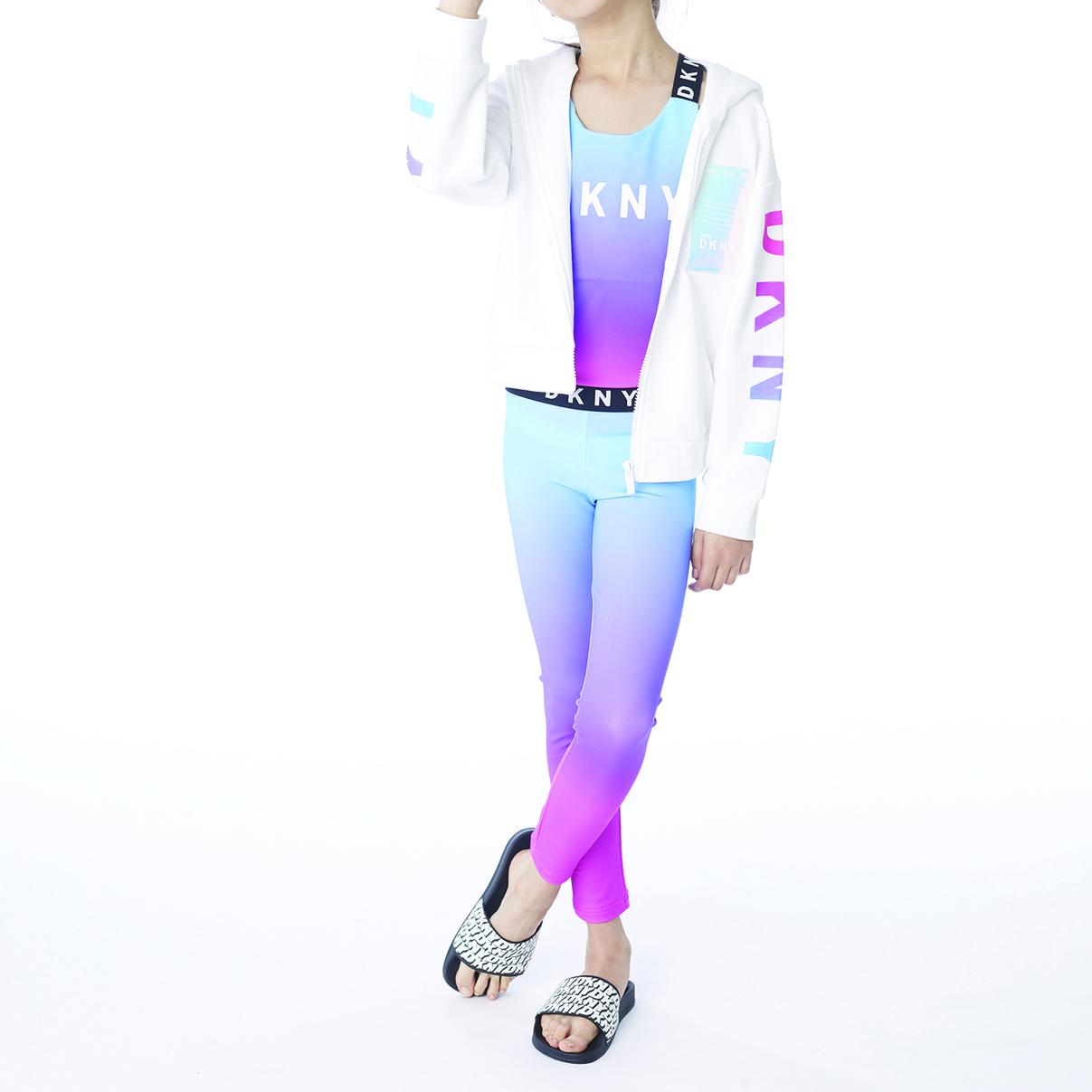Stretch jacquard leggings DKNY for GIRL