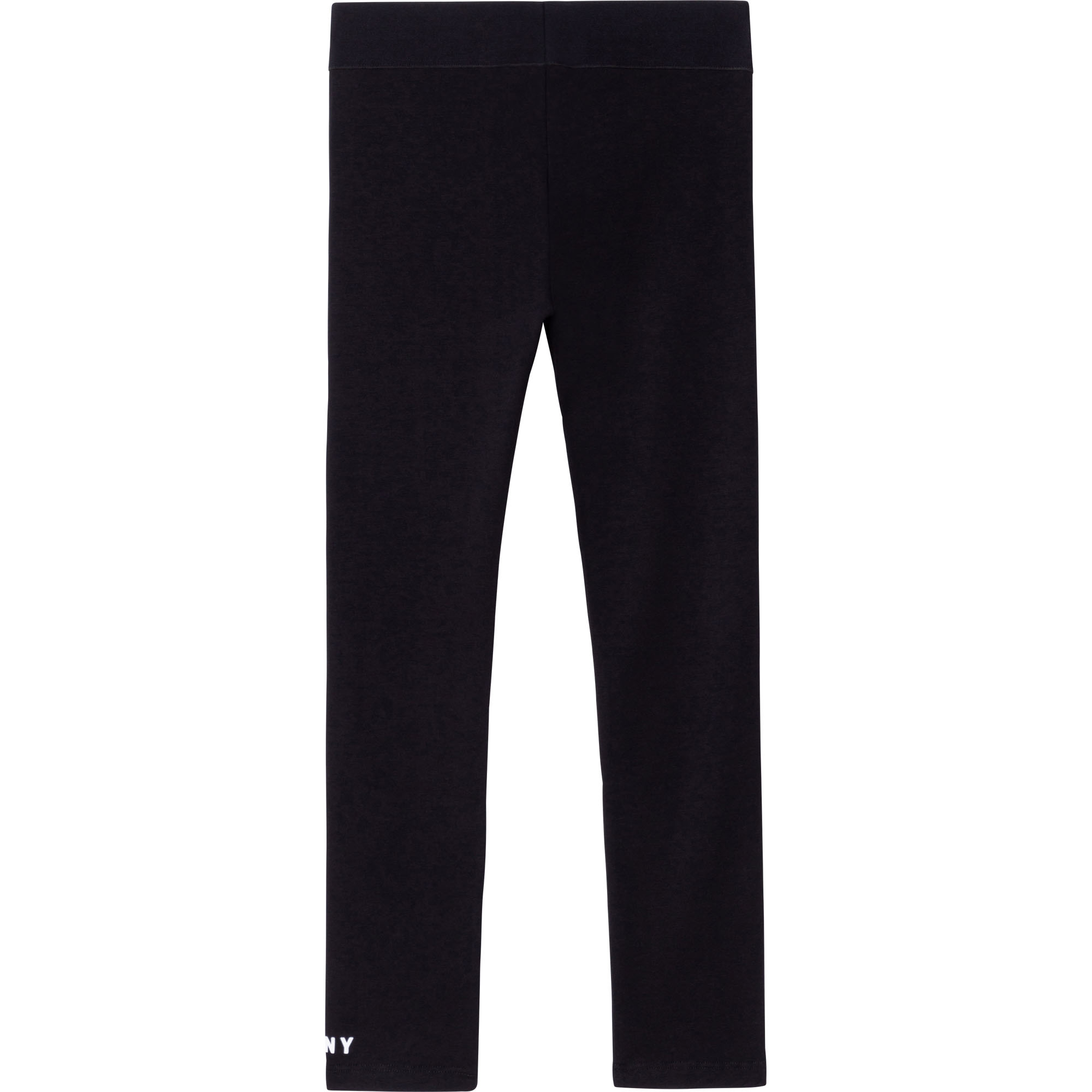 Legging coton bio avec logo DKNY pour FILLE