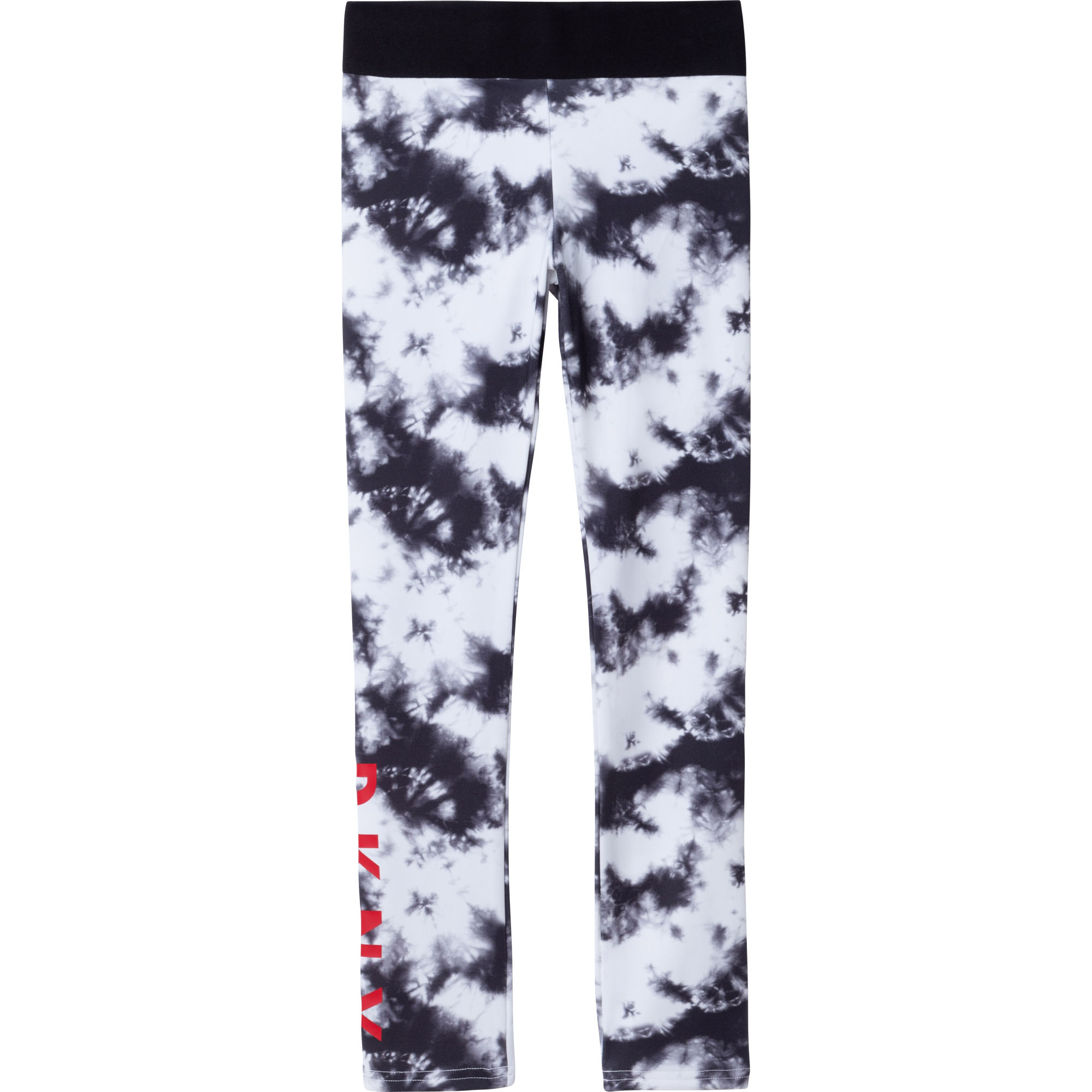 Legging en jersey imprimé DKNY pour FILLE