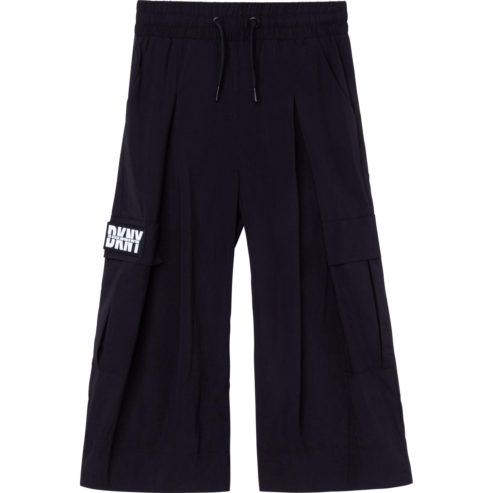 Pantalon large avec badge DKNY pour FILLE