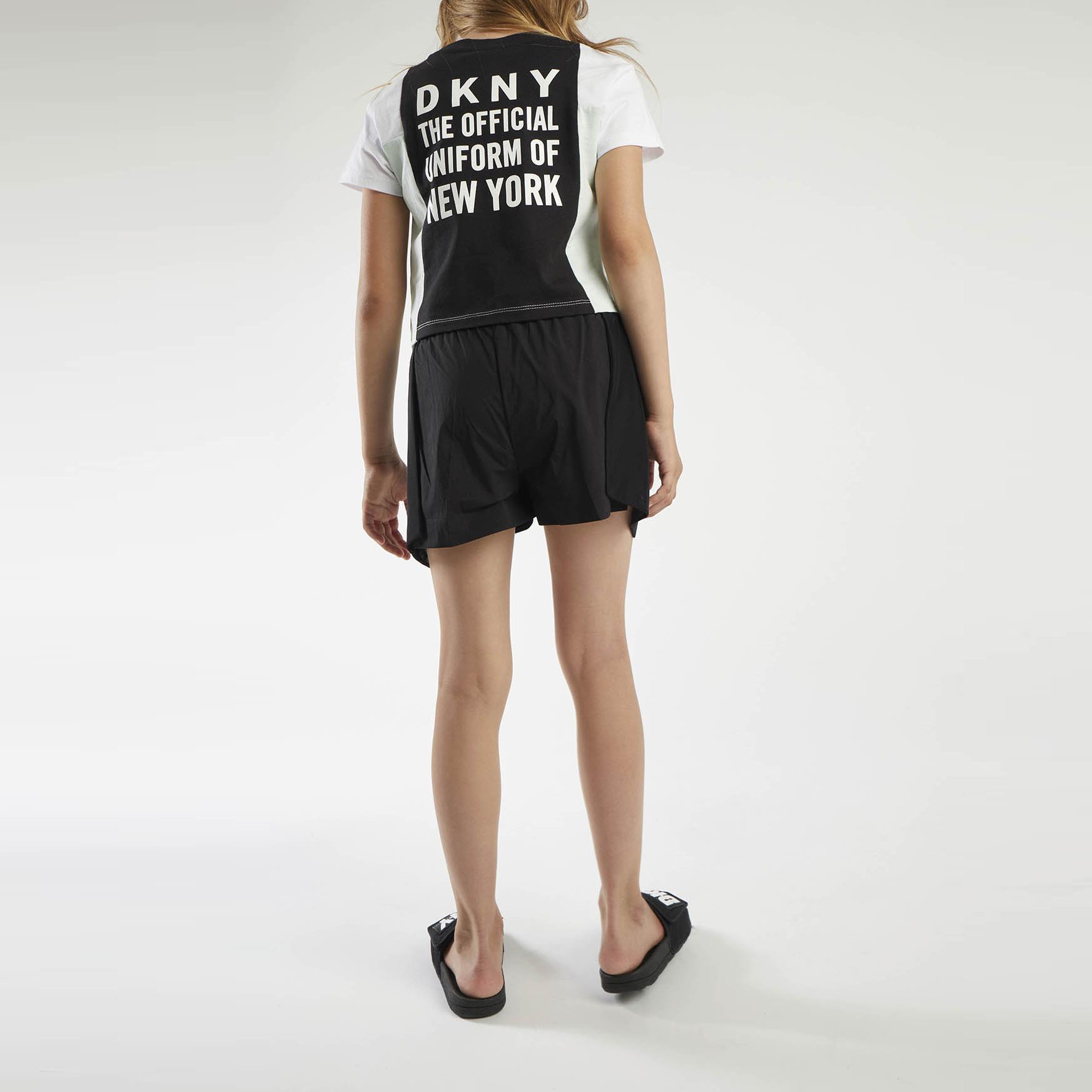 Short fantaisie détail mesh DKNY pour FILLE