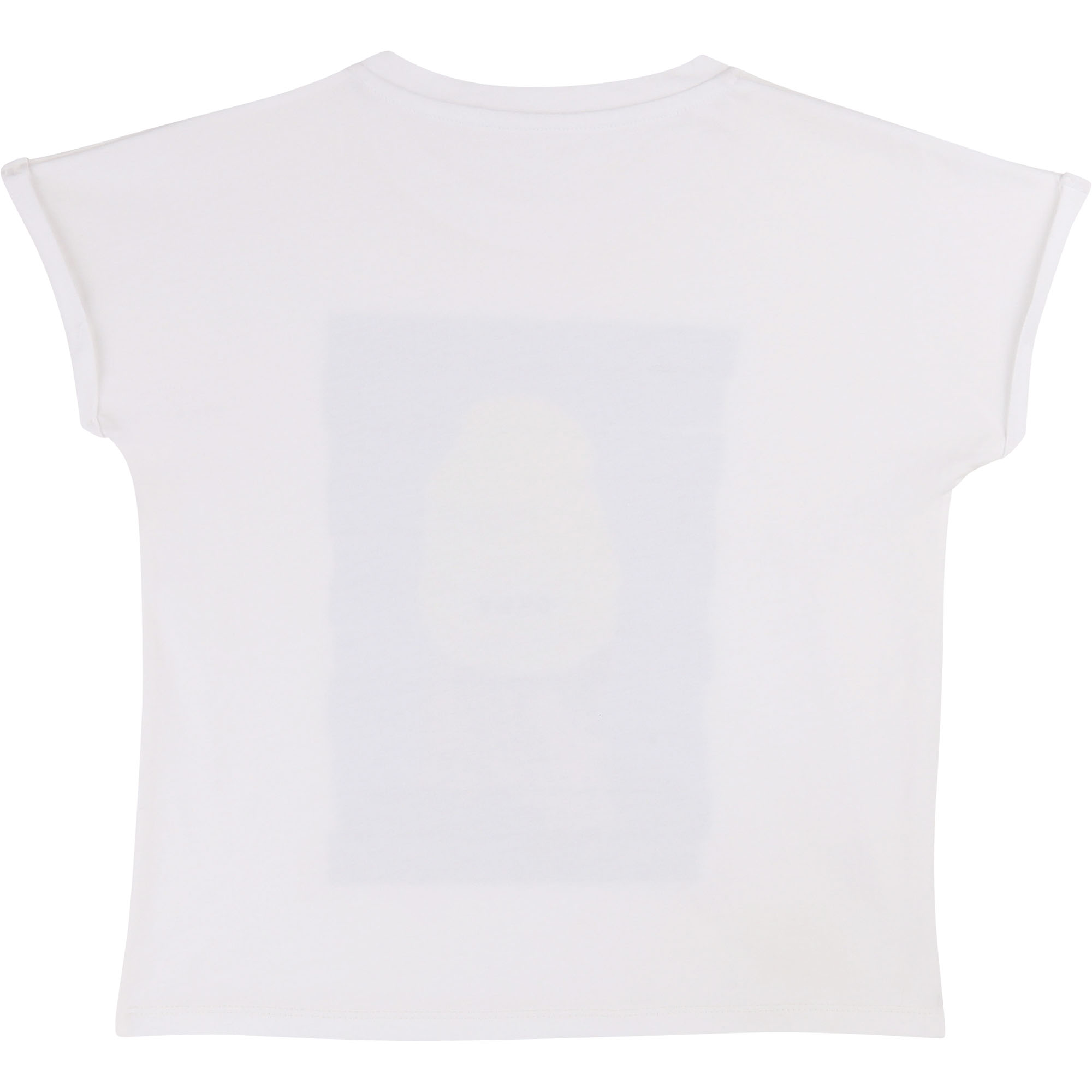 Printed cotton modal T-shirt DKNY for GIRL