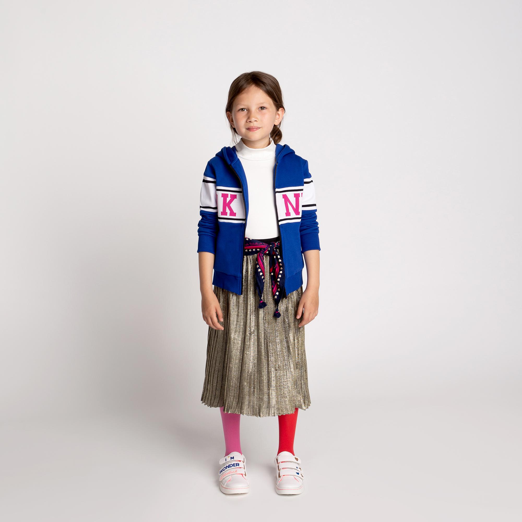 Sudadera muletón con capucha DKNY para NIÑA