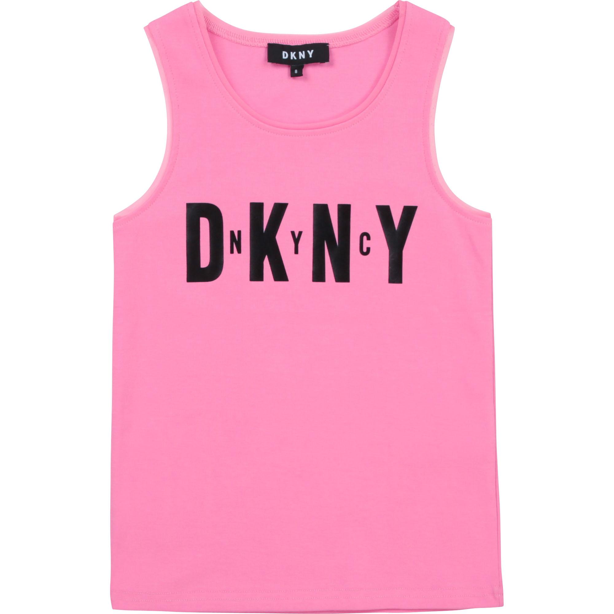 Débardeur avec détails mesh DKNY pour FILLE