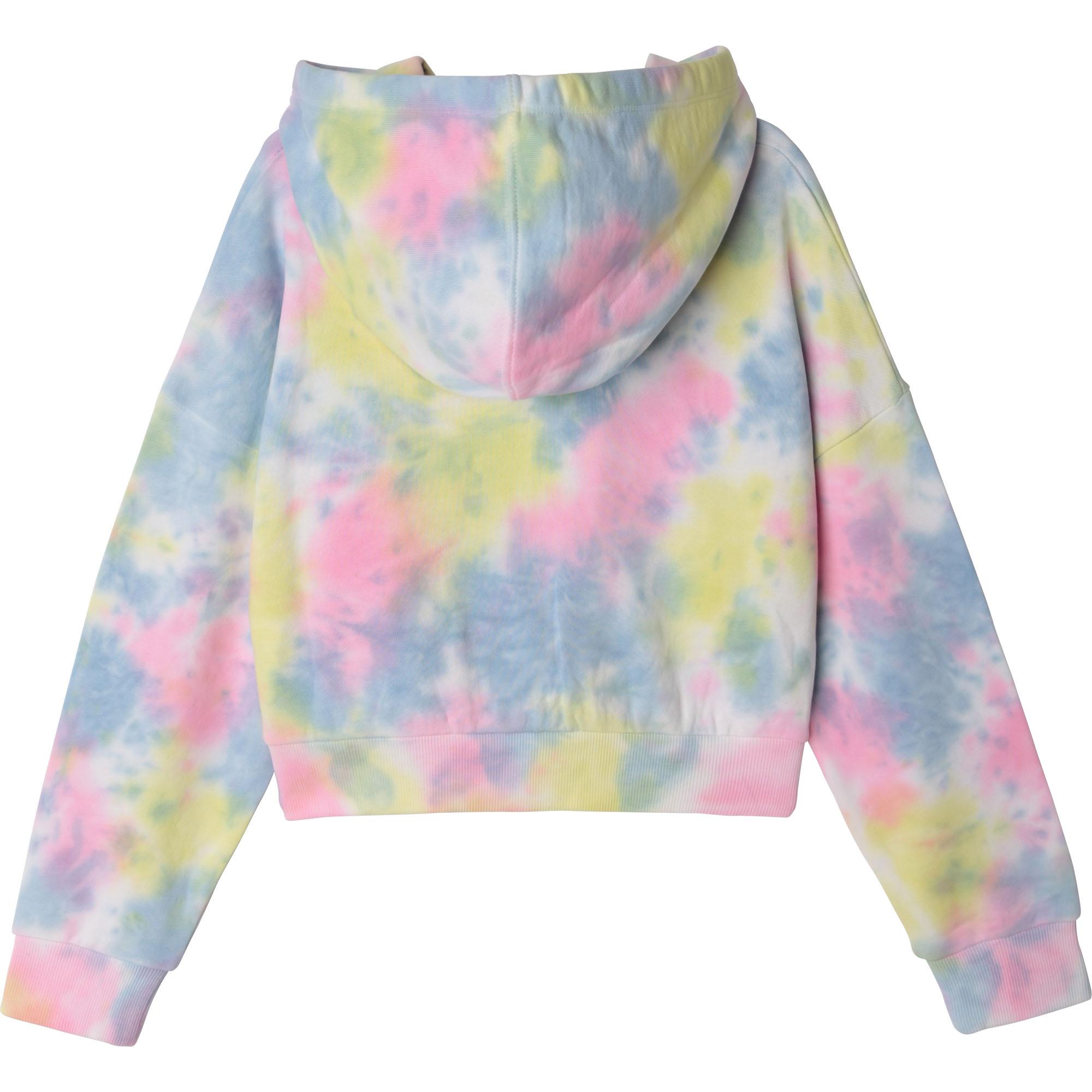 Sweat à capuche multicolore DKNY pour FILLE