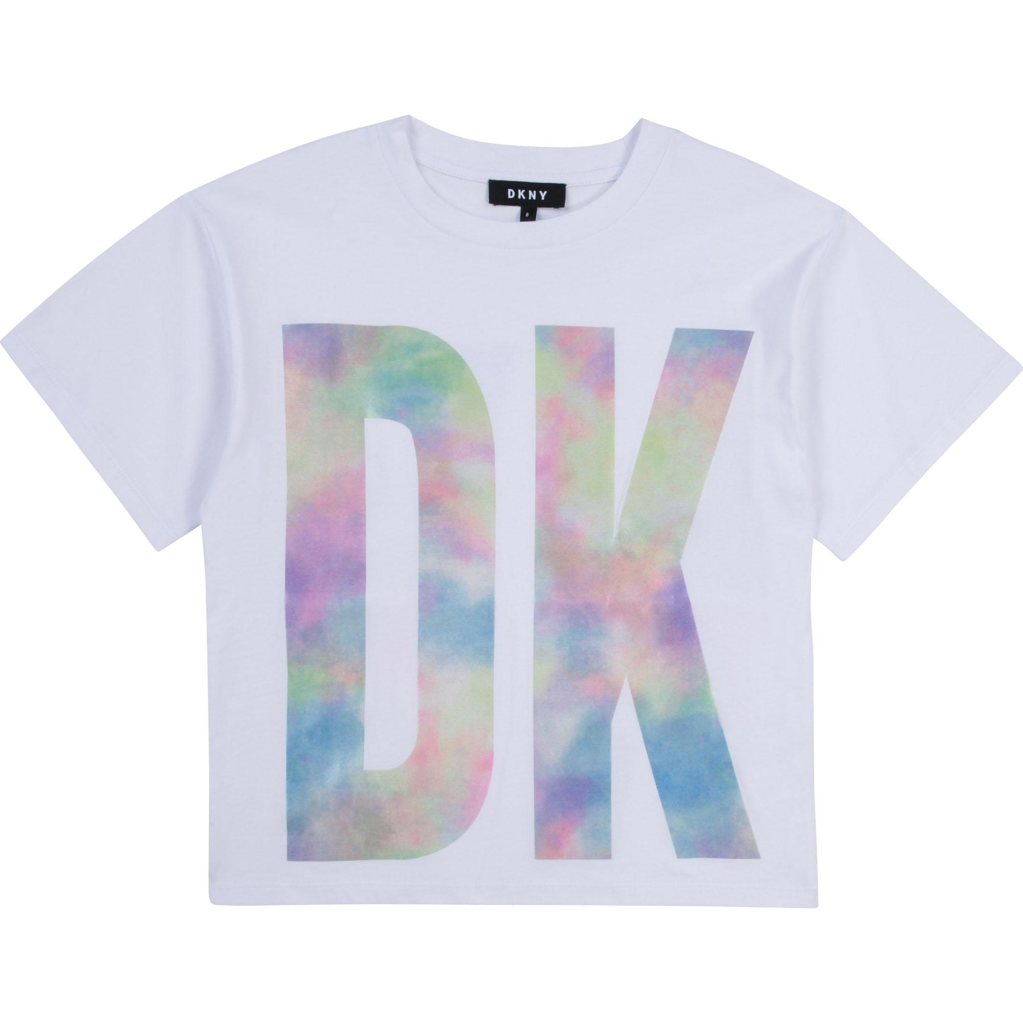 T-shirt forme loose DKNY pour FILLE