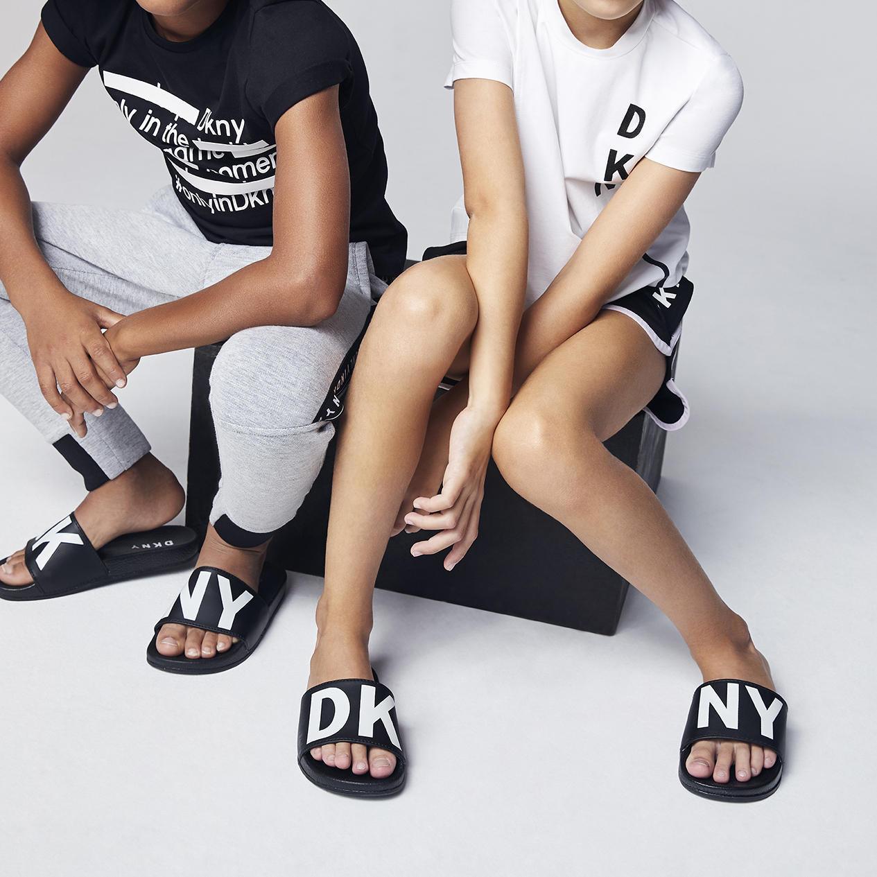 Two-tone sandals DKNY for GIRL