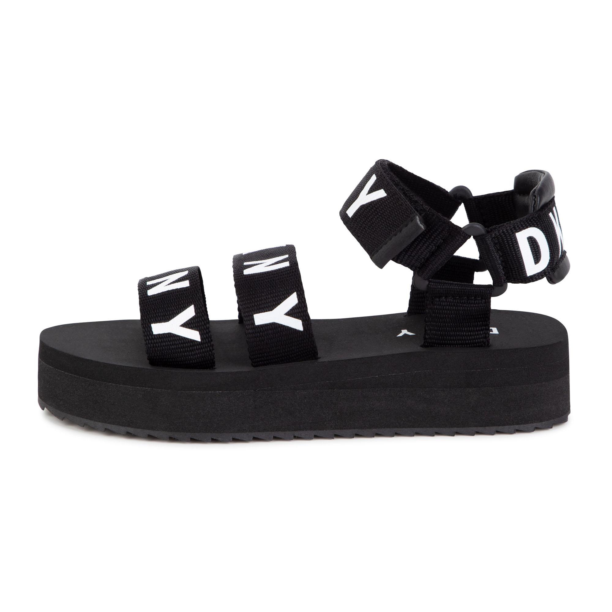 Sandales à scratch DKNY pour FILLE