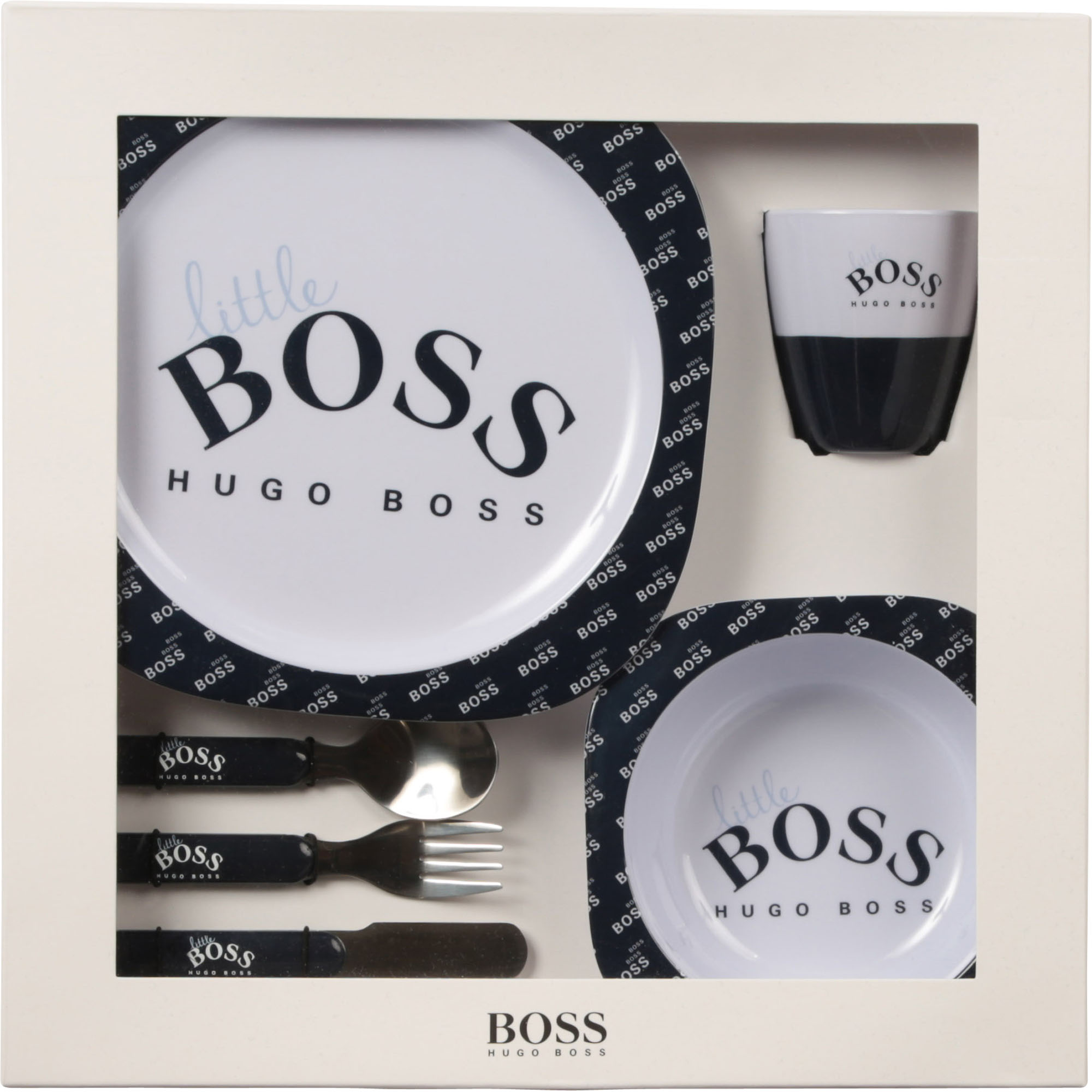Printed meal set BOSS for BOY