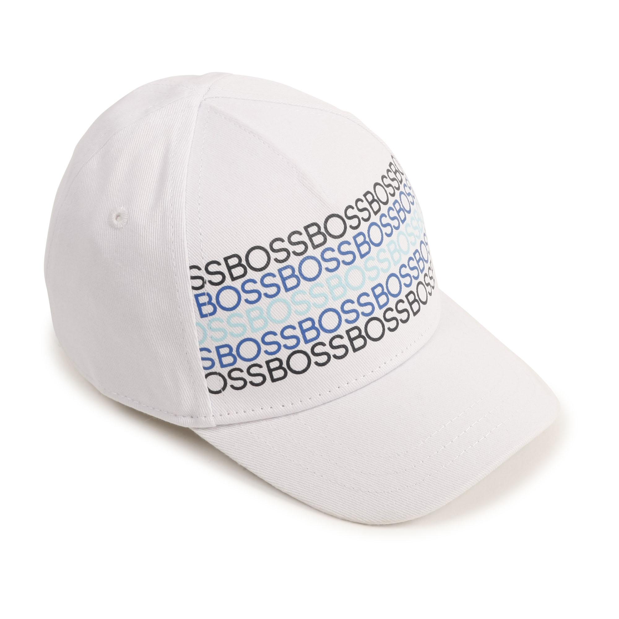 Cotton twill cap BOSS for BOY