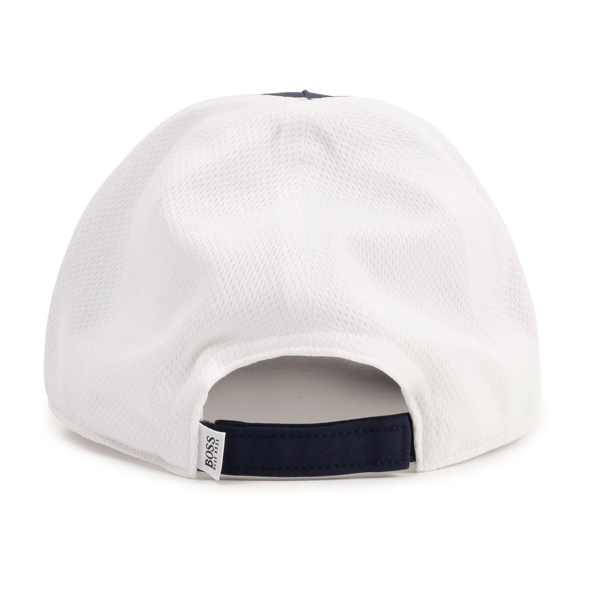 Two-tone logo cap BOSS for BOY