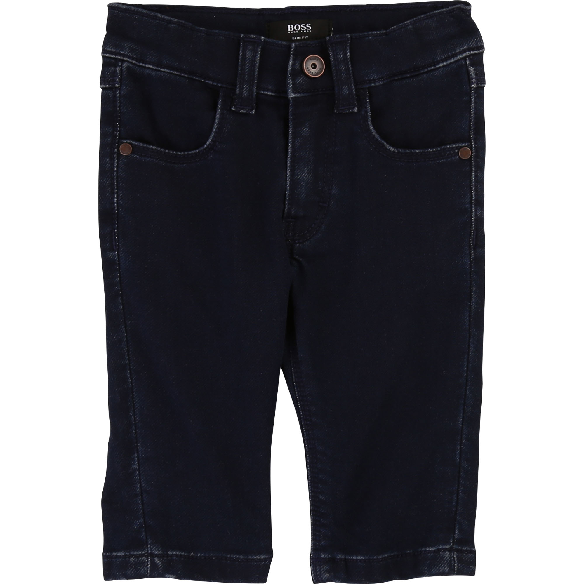 Pantalon stretch en denim brut BOSS pour GARCON