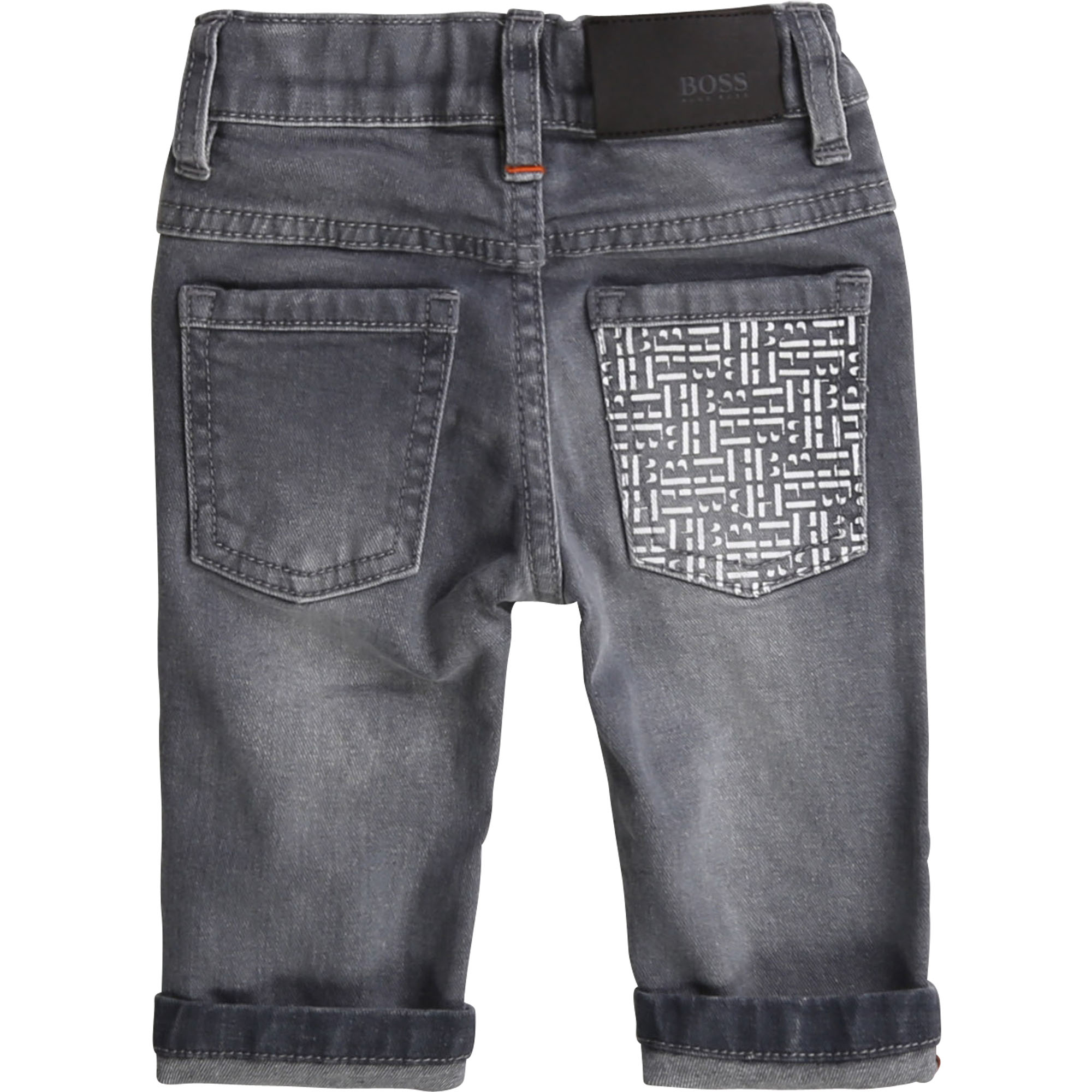 Stretch cotton denim jeans BOSS for BOY