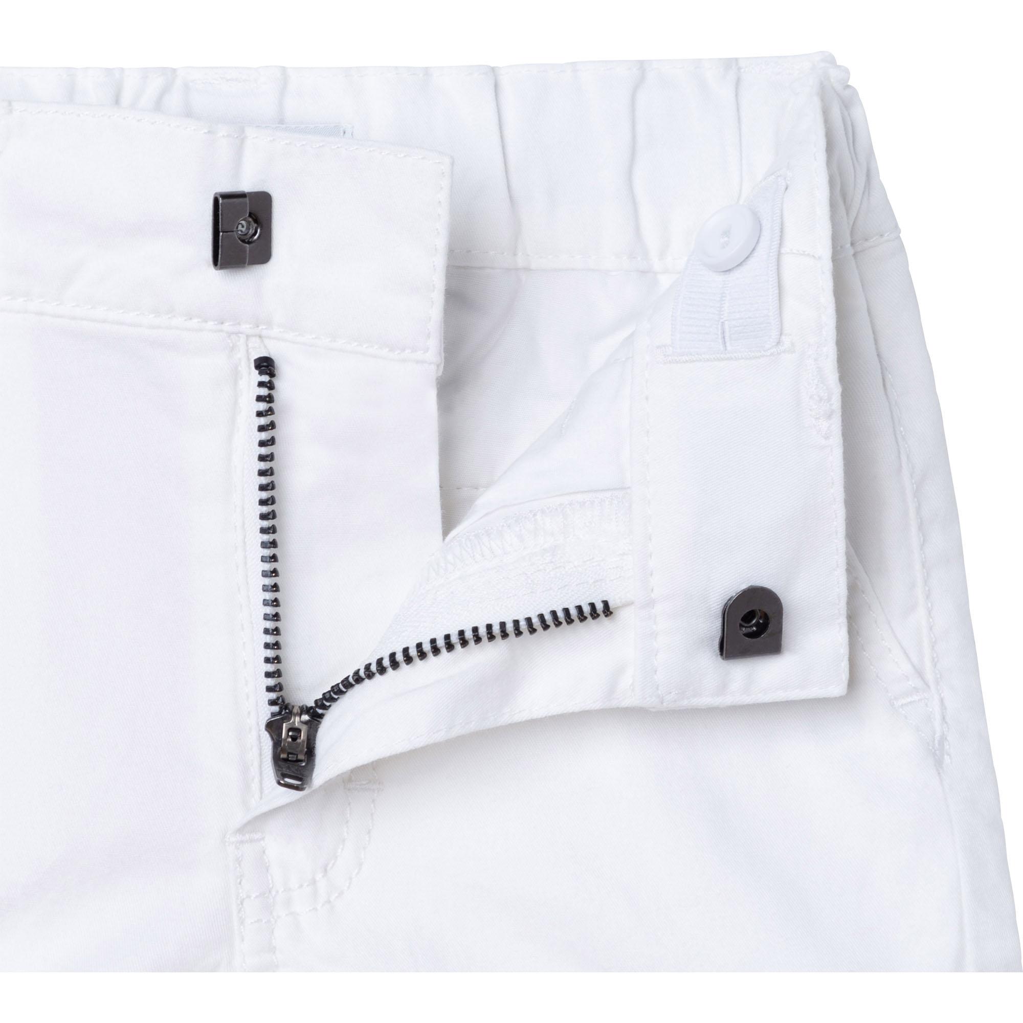Cotton twill bermuda shorts BOSS for BOY