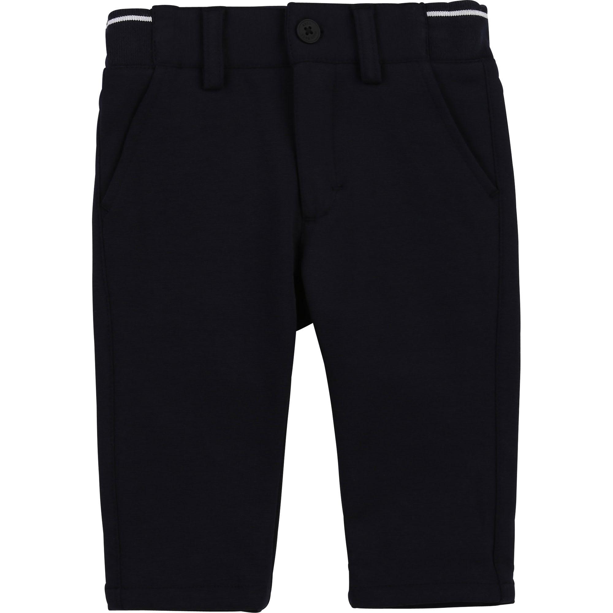 Pantalon de costume en milano BOSS pour GARCON
