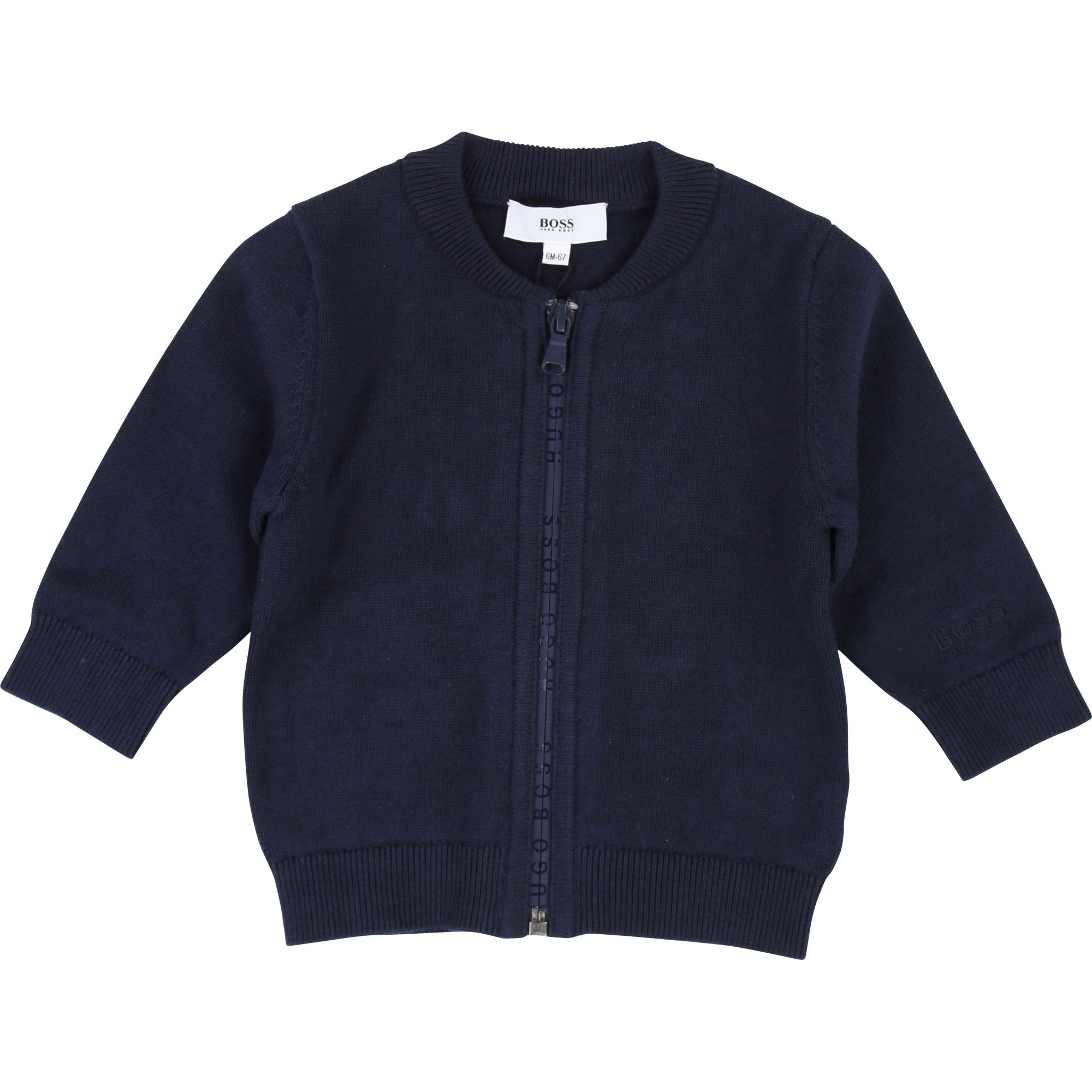 KNITTED CARDIGAN BOSS for BOY