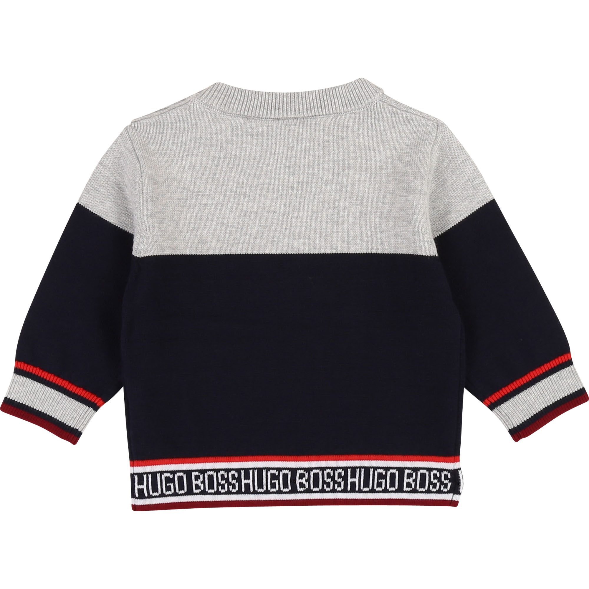 Striped cotton jumper BOSS for BOY