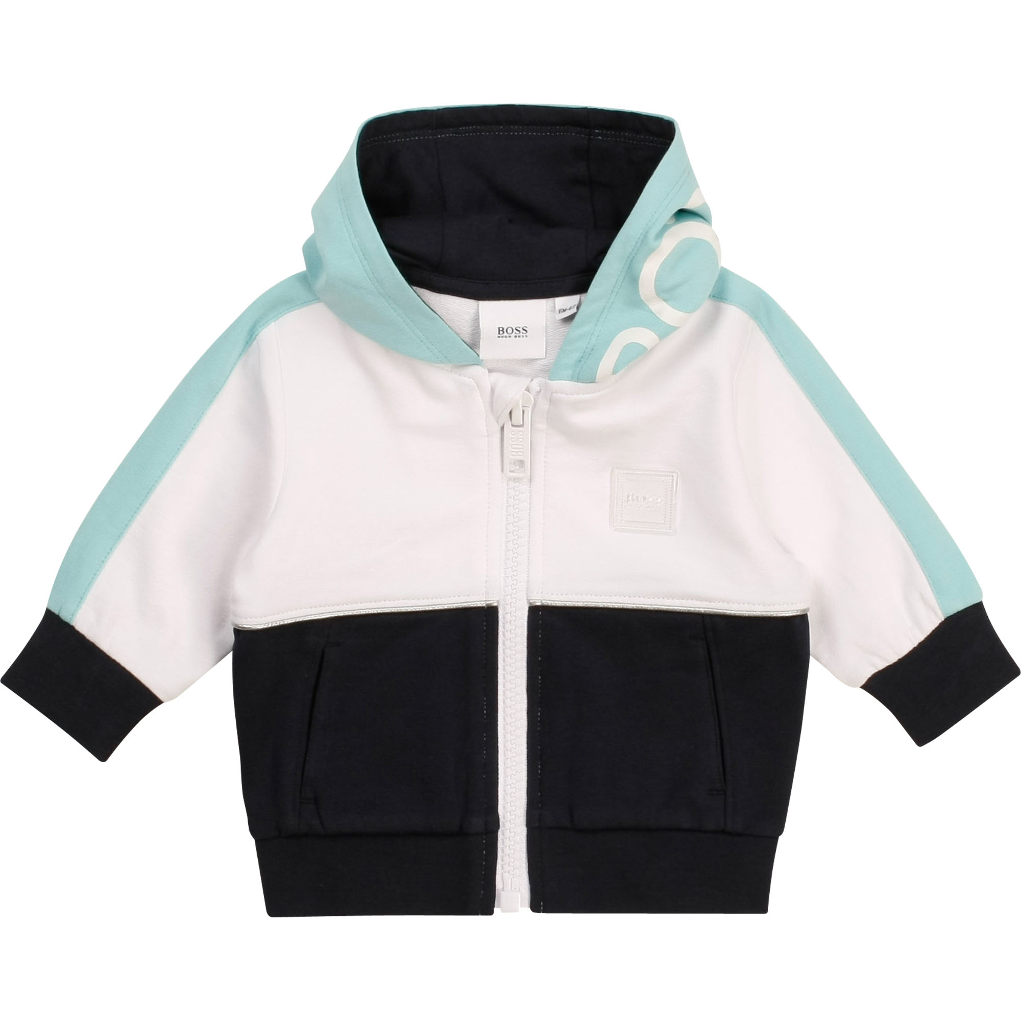 Hooded tracksuit cardigan BOSS for BOY