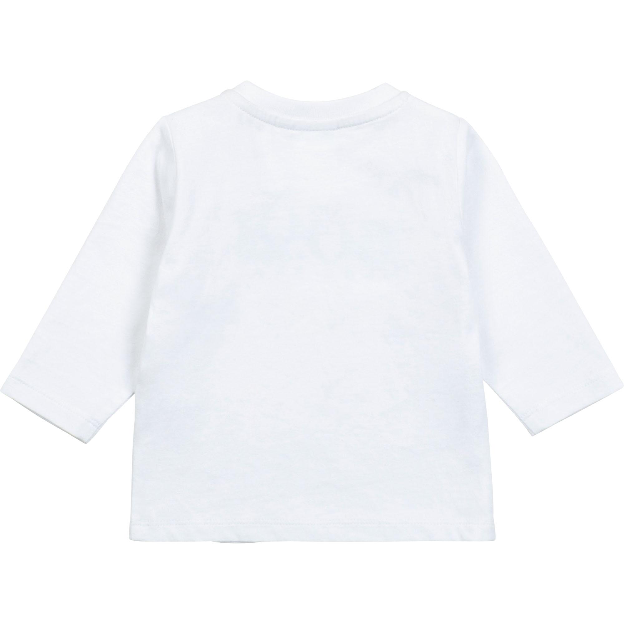 T-shirt jersey pressionné BOSS pour GARCON