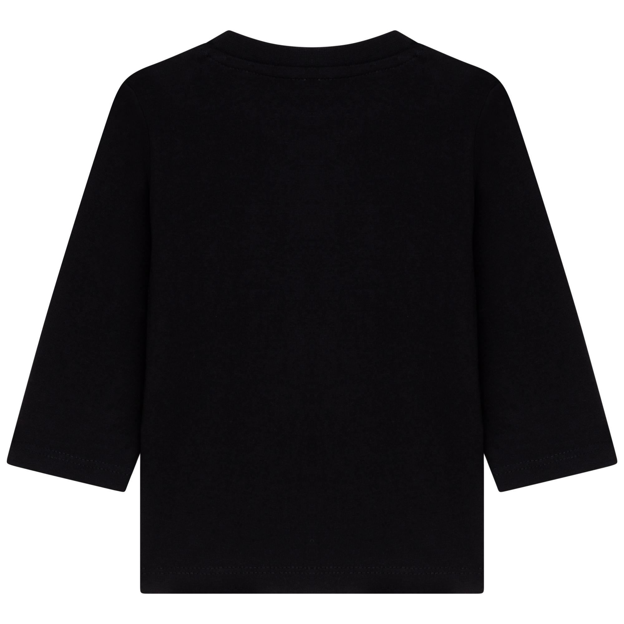 T-shirt manches longues jersey BOSS pour GARCON