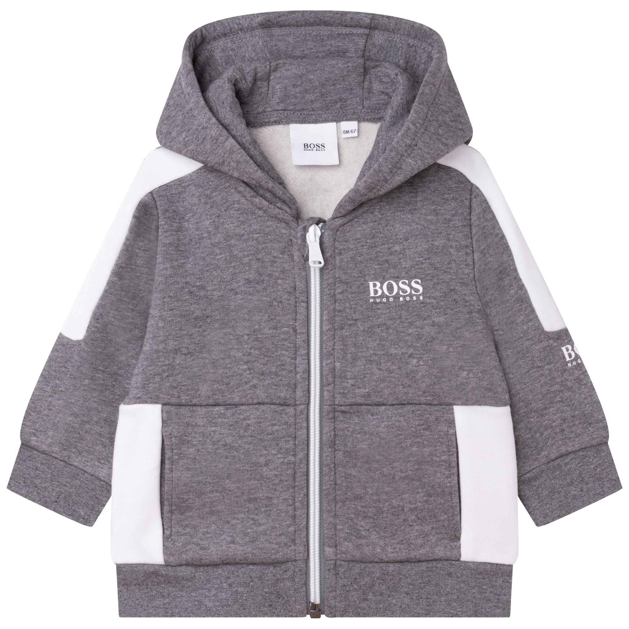 Brushed fleece sweatshirt BOSS for BOY