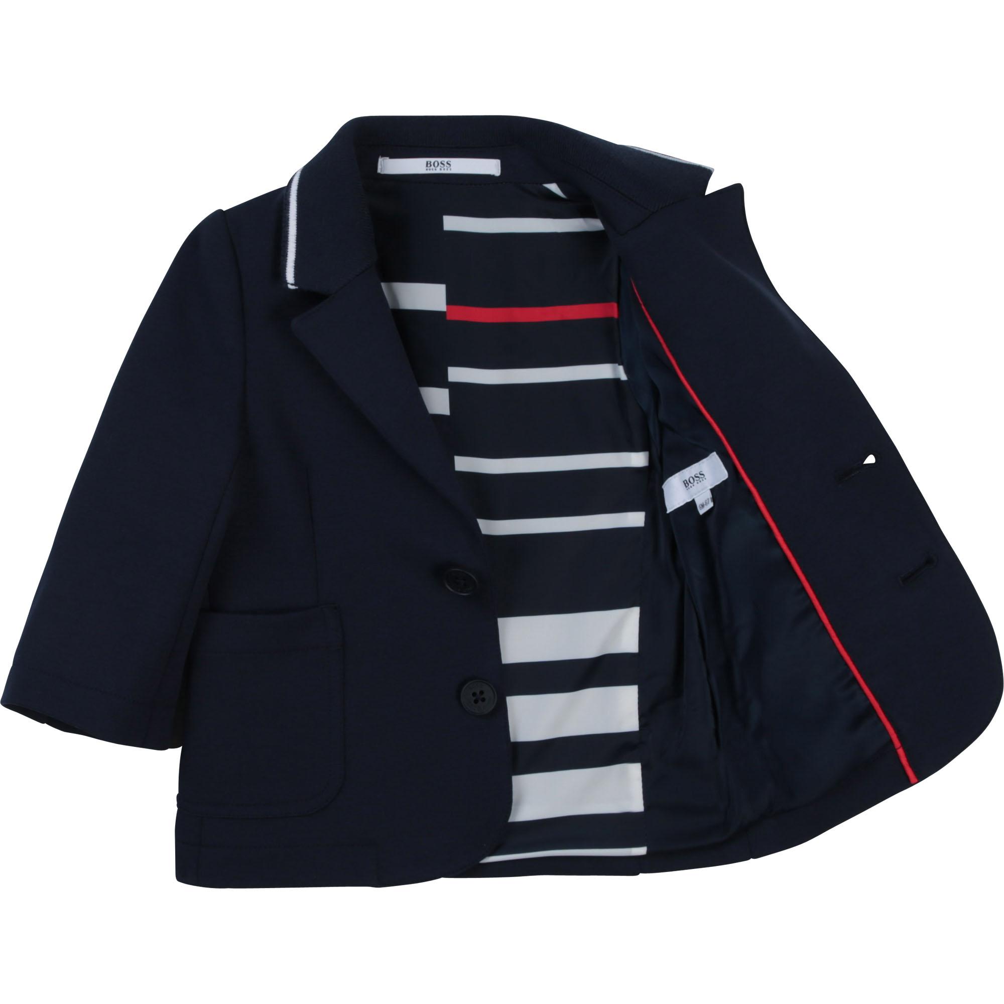 Veste de costume en milano BOSS pour GARCON