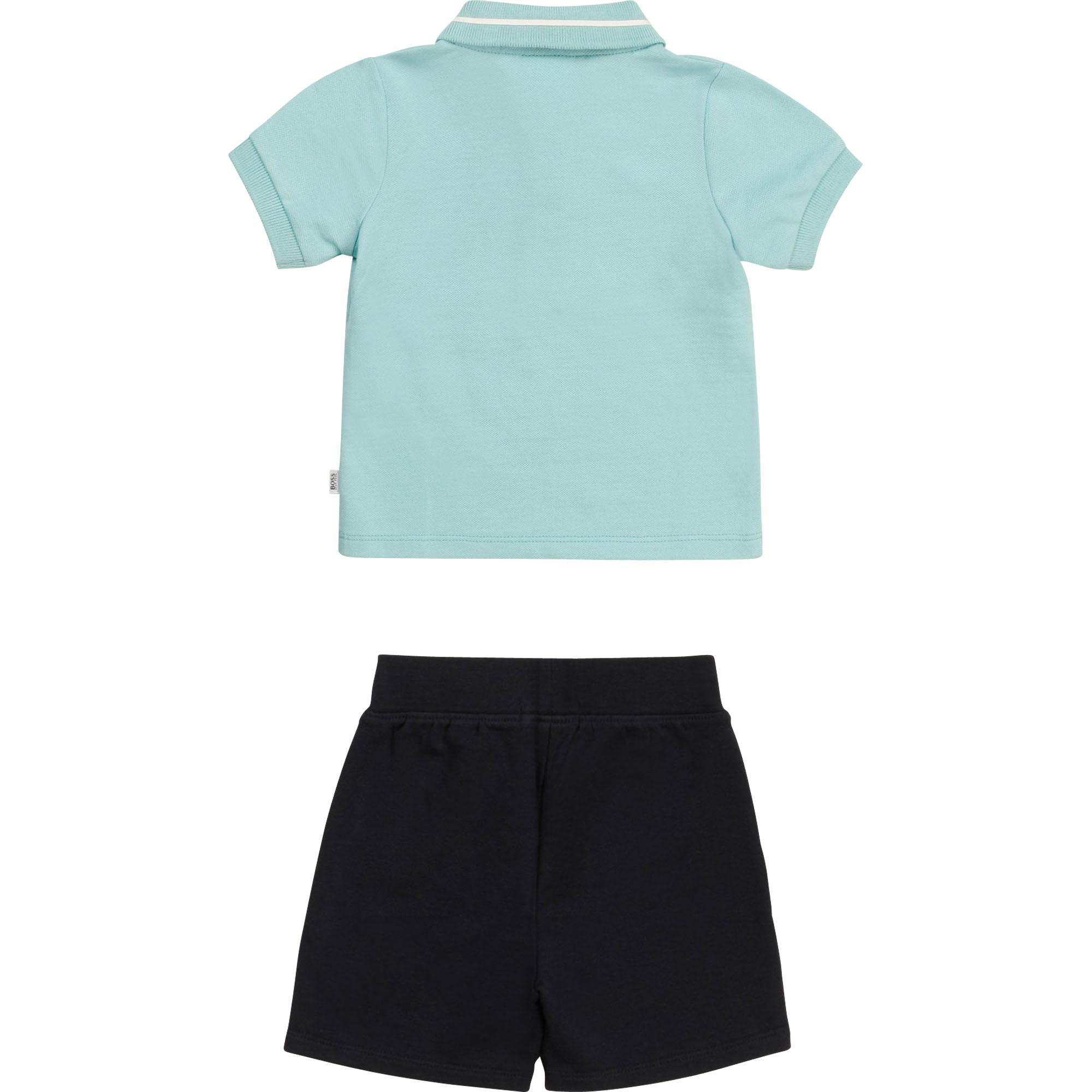 T-shirt and Bermuda shorts set BOSS for BOY