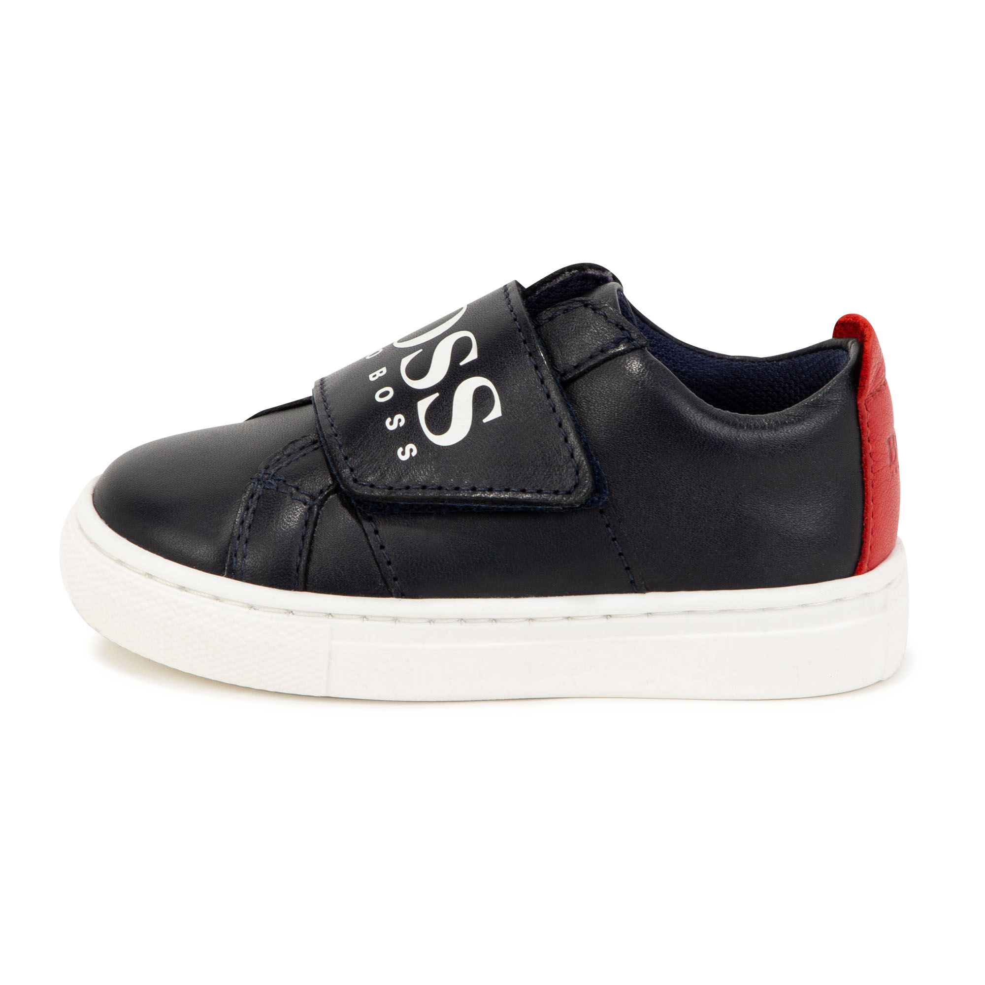 Low-top leather sneakers BOSS for BOY