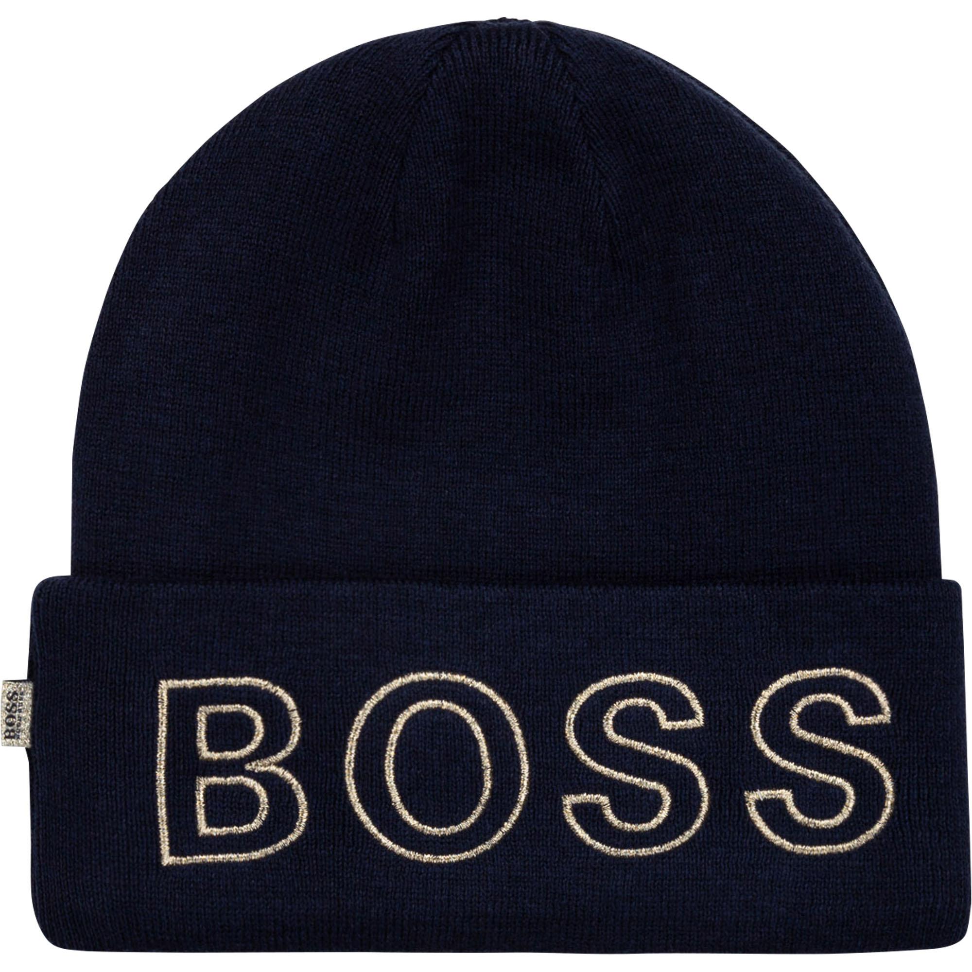Woolly hat BOSS for GIRL