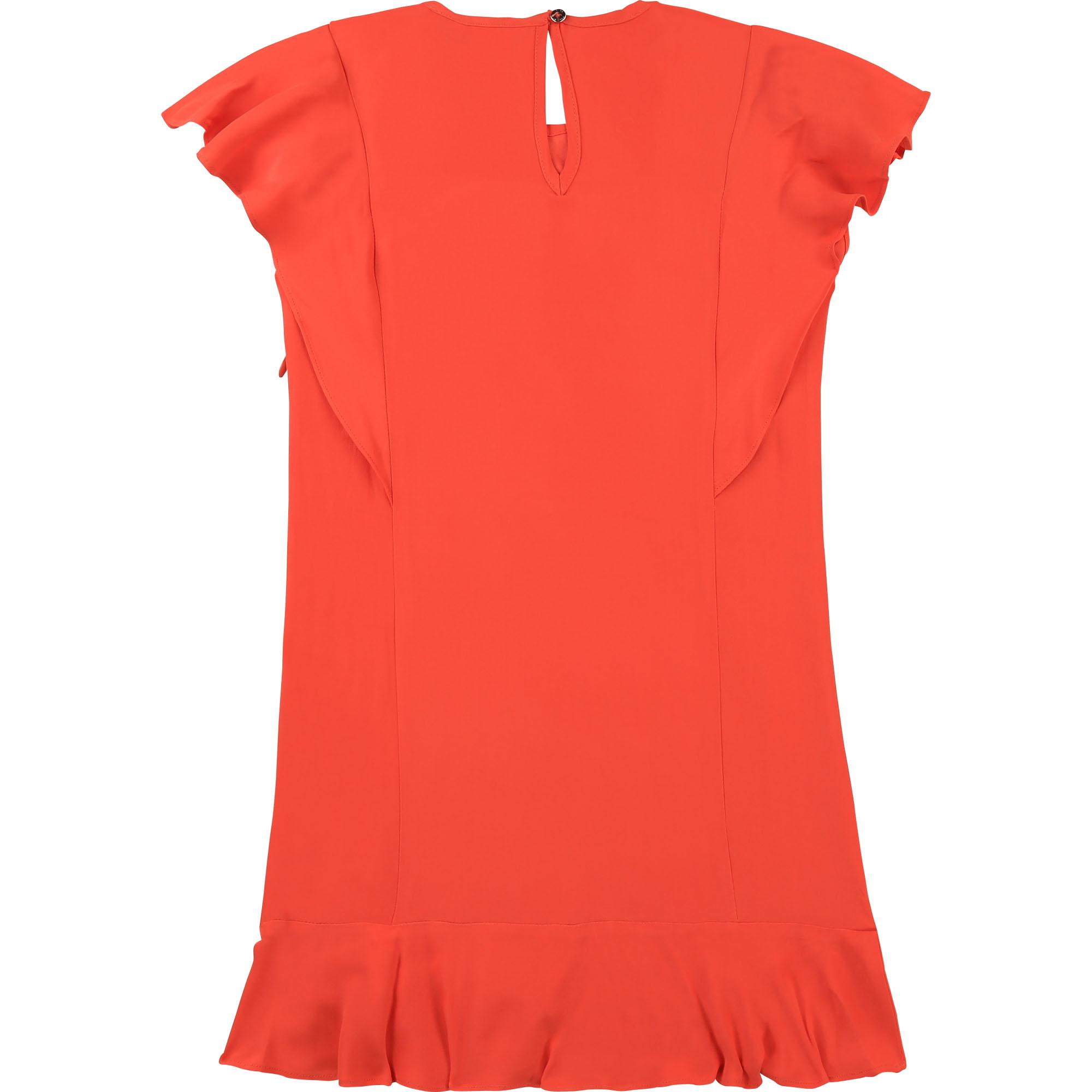 Satin crepe dress BOSS for GIRL