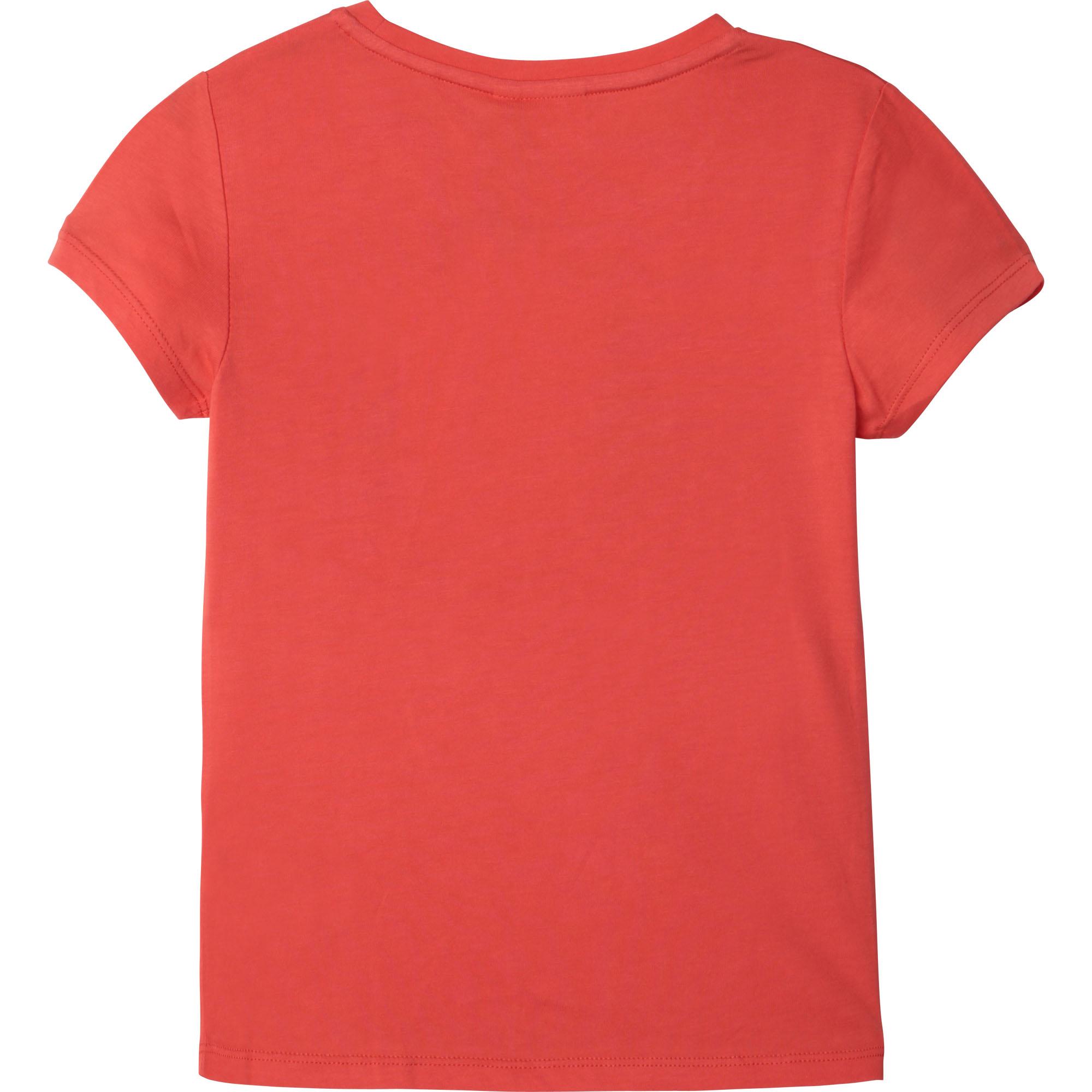 T-shirt en coton et modal BOSS pour FILLE