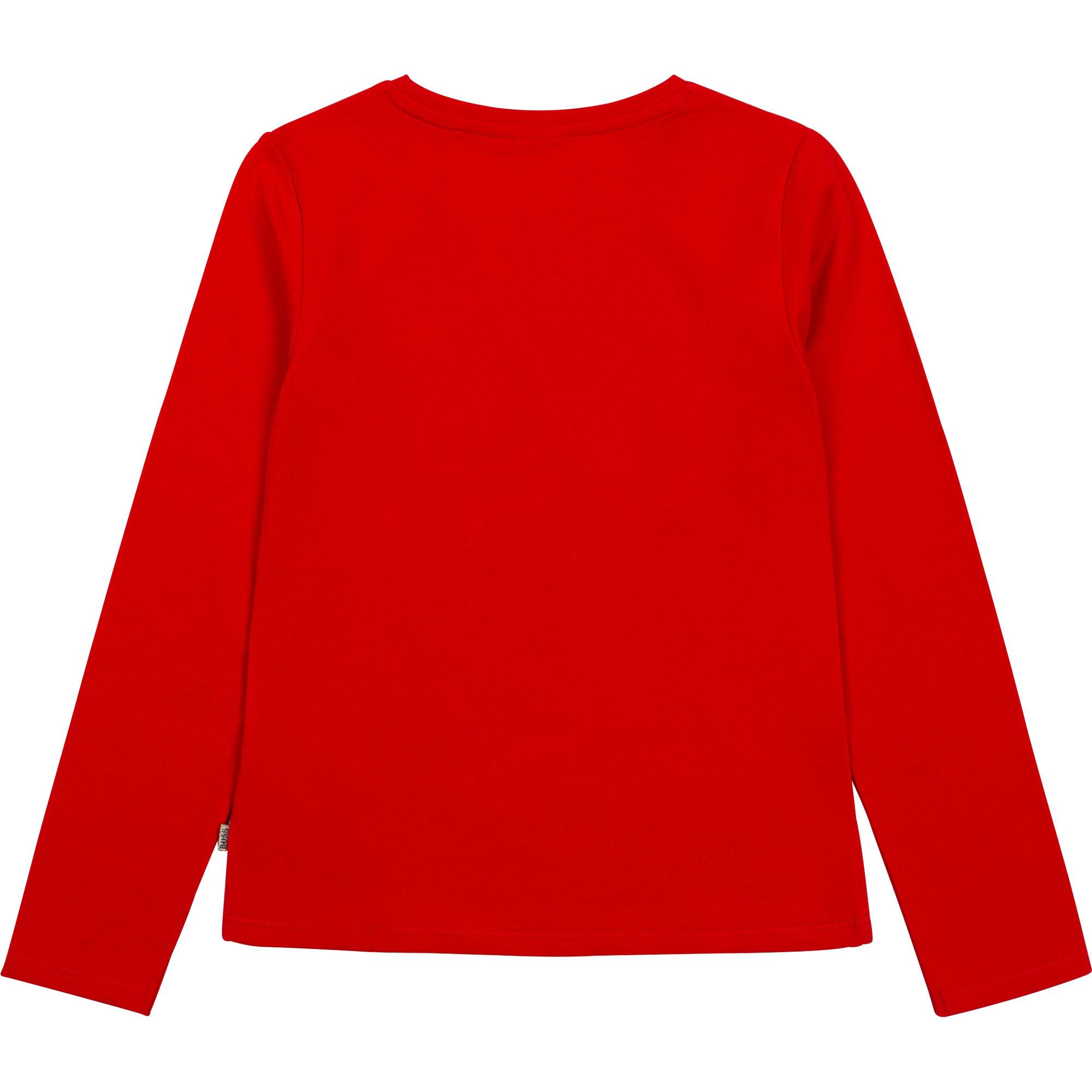 Long-sleeved T-shirt BOSS for GIRL